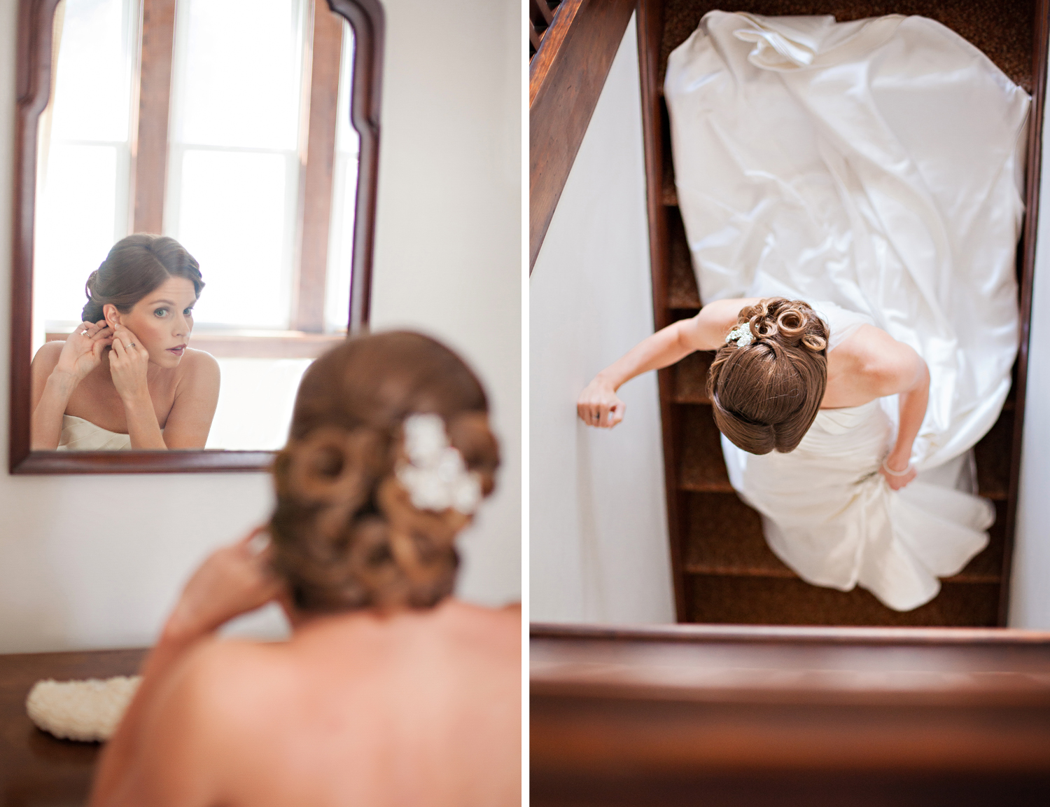 St Marys Ohio, classic wedding photography, getting ready