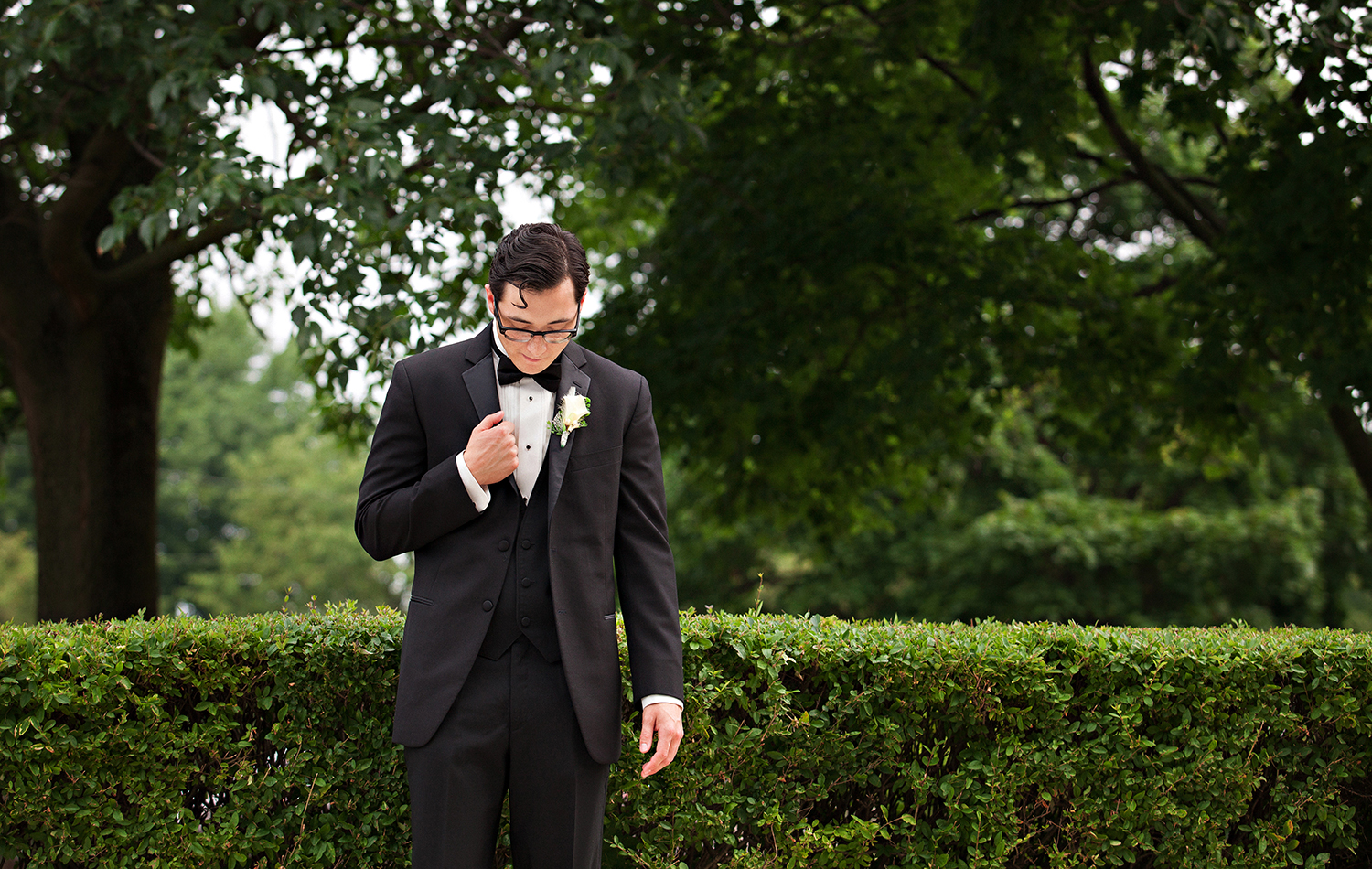 Osgood Ohio, 1920 inspired wedding, Great Gatsby wedding, groom details, cool groom, classic tux