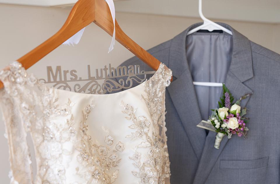 Dress Shop: Emmy's Bridal | Minster, OH Tux Shop: Mr. Shoppe | Coldwater, OH