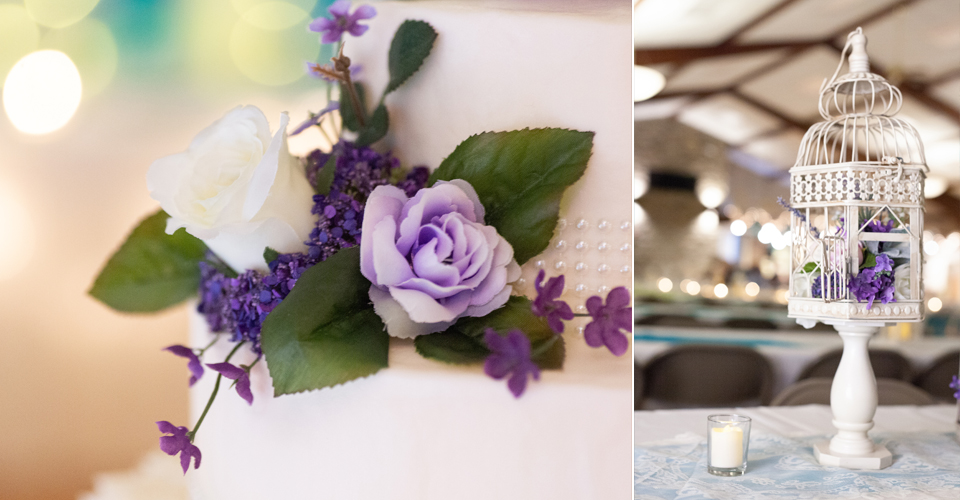 Reception Venue: St. Michael's Hall | Fort Loramie, OH Florist: Nature's Reflection | Versailles, OH Cake: Lorna Timmerman