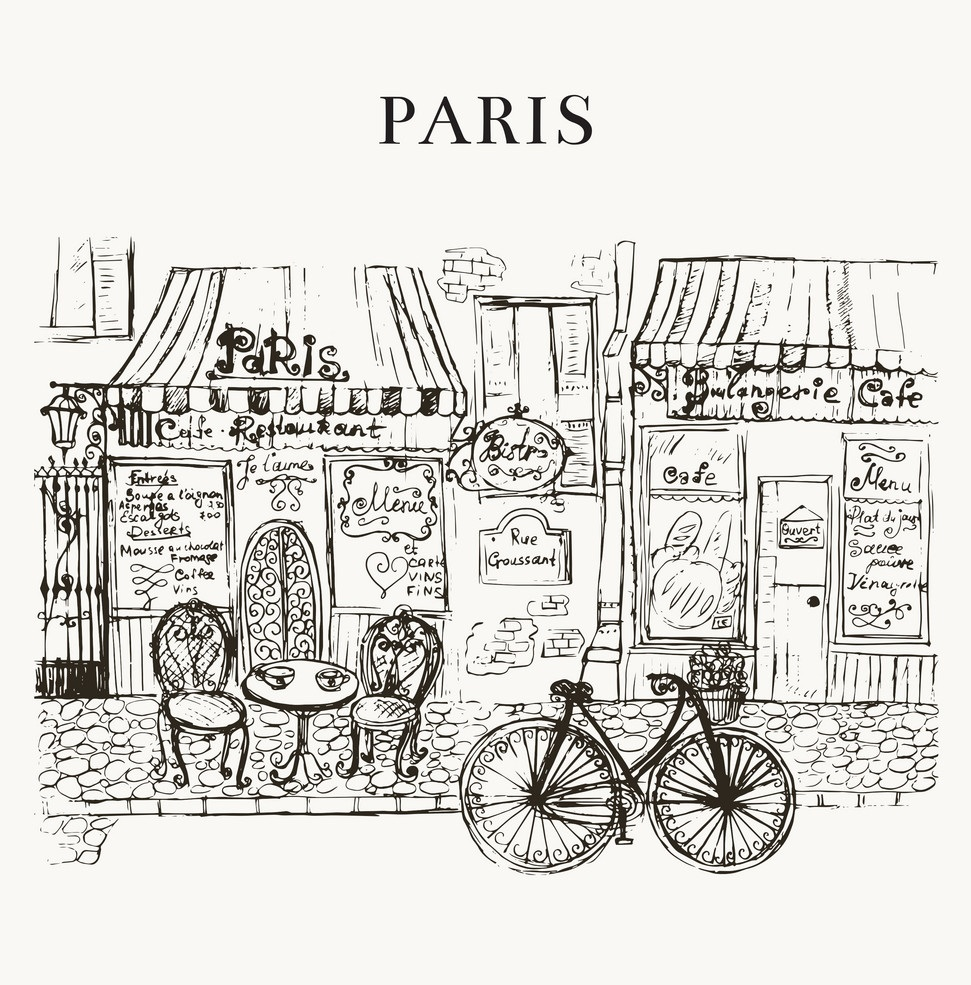 An Afternoon in Paris -