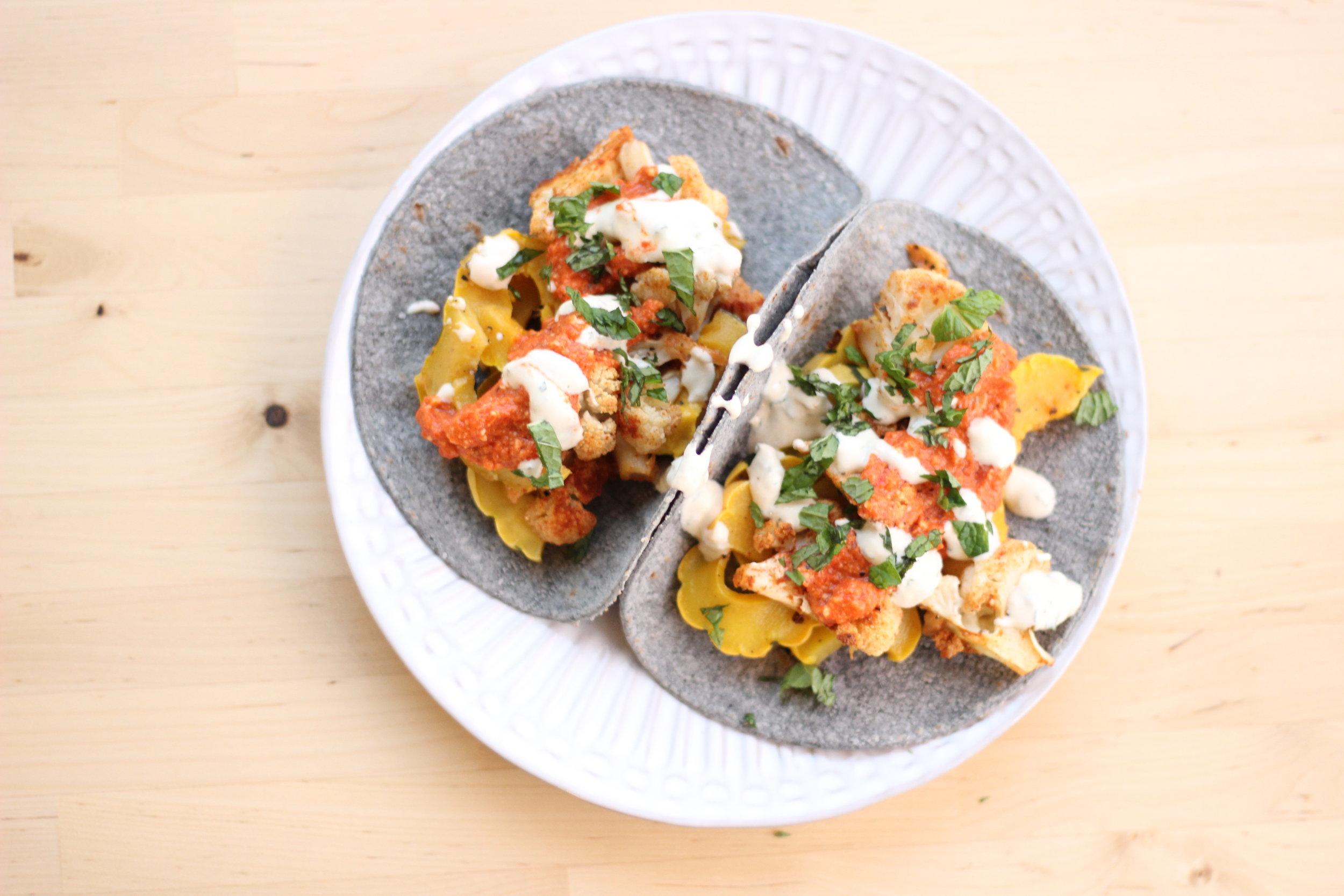 Cauliflower tacos romesco sauce  plated2.jpg