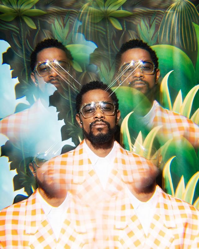 New Work: Set Design for this months Tidal Magazine with LaKeith Stanfield. @tidal mag @lakeithstanfield3 Photographer @cullywright Stylist @juliaplatthepworth Grooming @tashareikobrown Set design @amos_styles Celeb Casting @muzamagha Writer @remeez