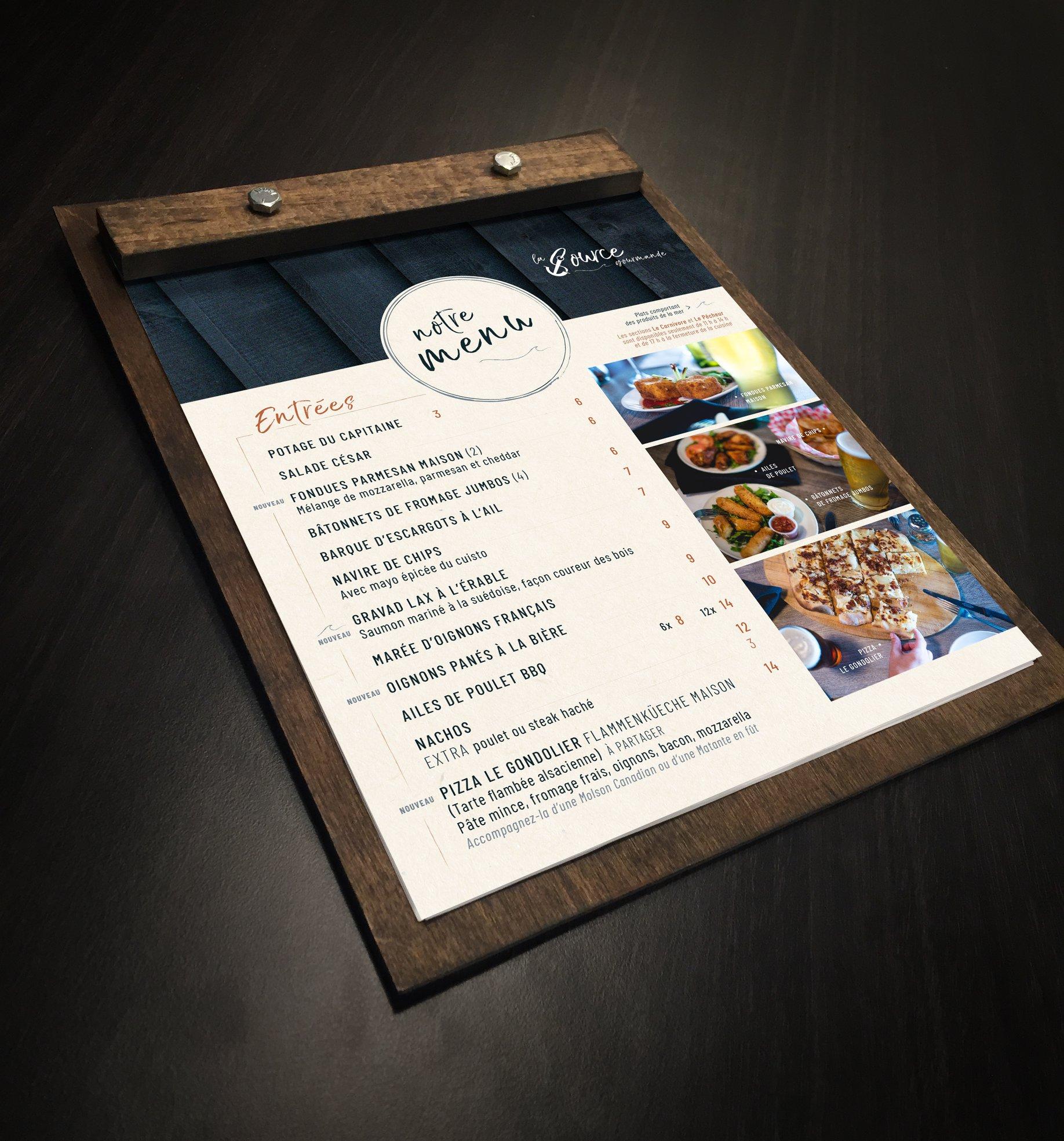 menu_lasource_restaurant_bar_graphisme_laboite_agencemarketing_beauce_quebec