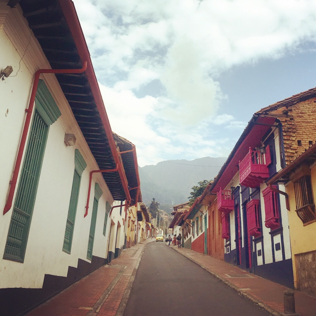 Colorful Streets, Bogota, Colombia