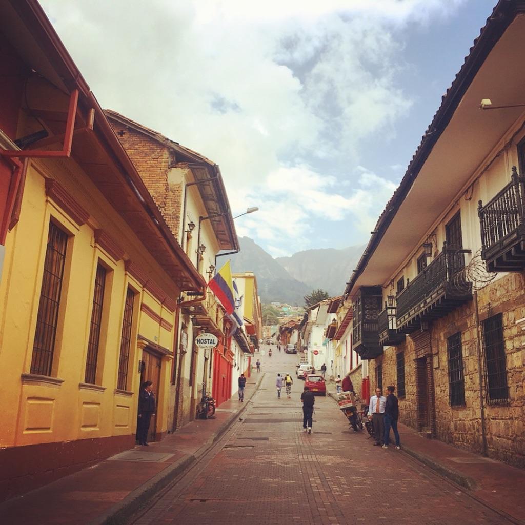 Cobblestone Streets, Bogota, Colombia