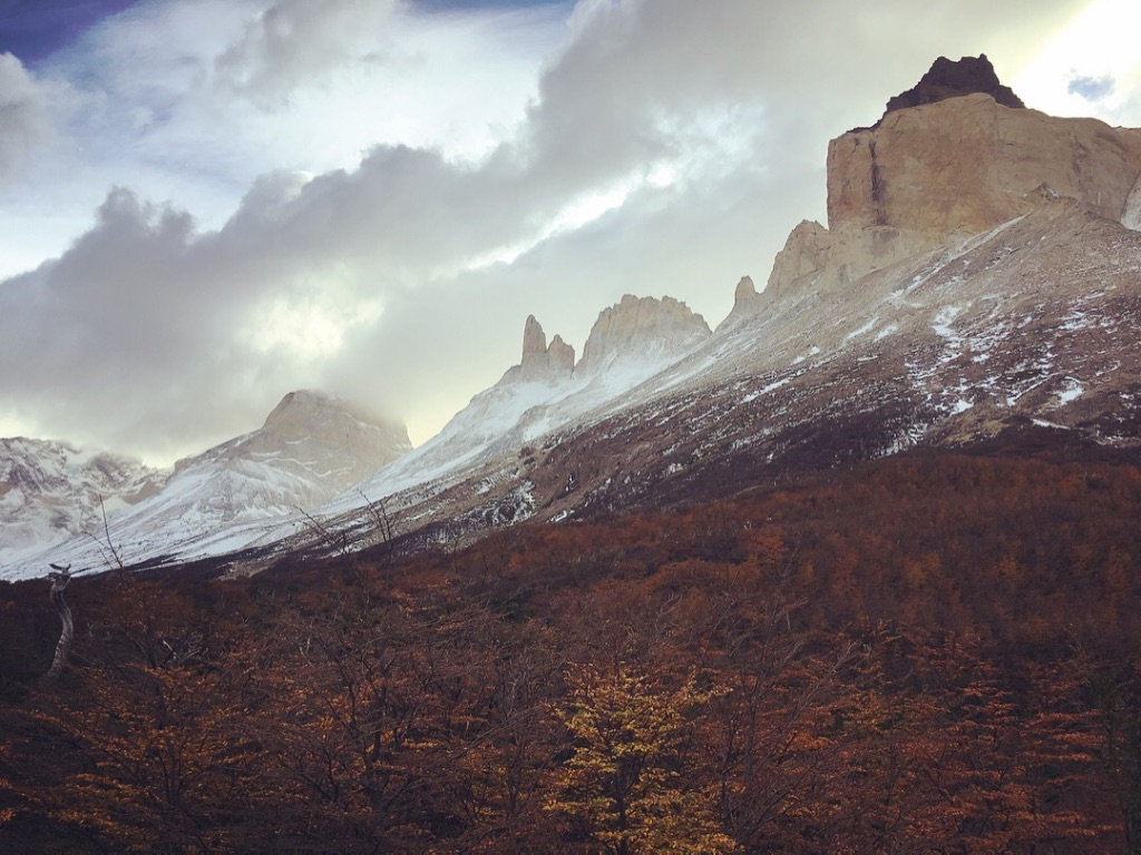Spent an unforgettable week wandering the W trail of Torres del Paine. Although the shoulder season gets sketchy for weather, I was so stoked for all the fall colors!! 🍂🍁🏔  #torresdelpaine   #nationalparks   #chile   #puertonatales   #wtrail   #backpackingtrip   #naturetravel   #campingfordays   #yearoftravel   #travelblog   #dreamcometrue   #pathunwritten   #patagonia   #patagoniachile
