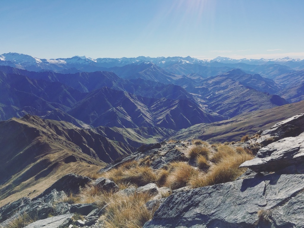 Sunny days and sweeping views - can't ask for more *at a loss for which emoji is appropriate for thriving*  #stunningviews   #sunnydays   #benlomond   #queenstownnz   #newzealand   #naturetravel   #dayhike   #yearoftravel   #solofemaletravel   #travelblog   #pathunwritten