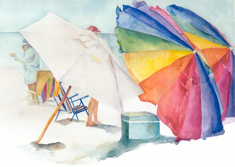 """Beach Umbrellas"""