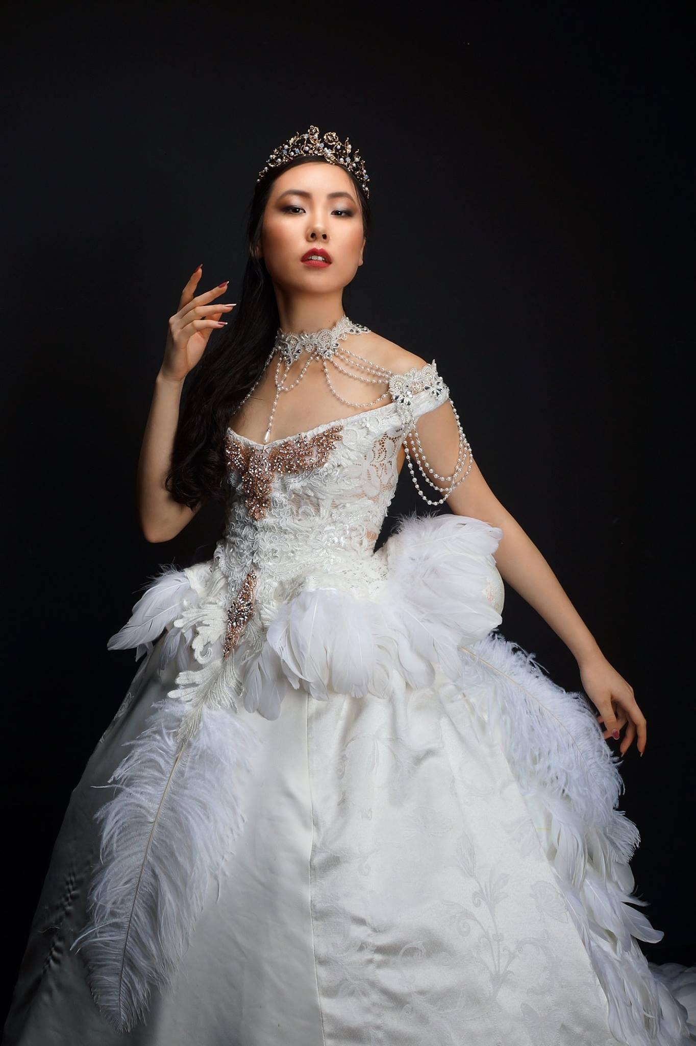 Model: Chrissy Chang- Dress: Justina Price MUA: Axcel Evc Photographer: Barry Freeman