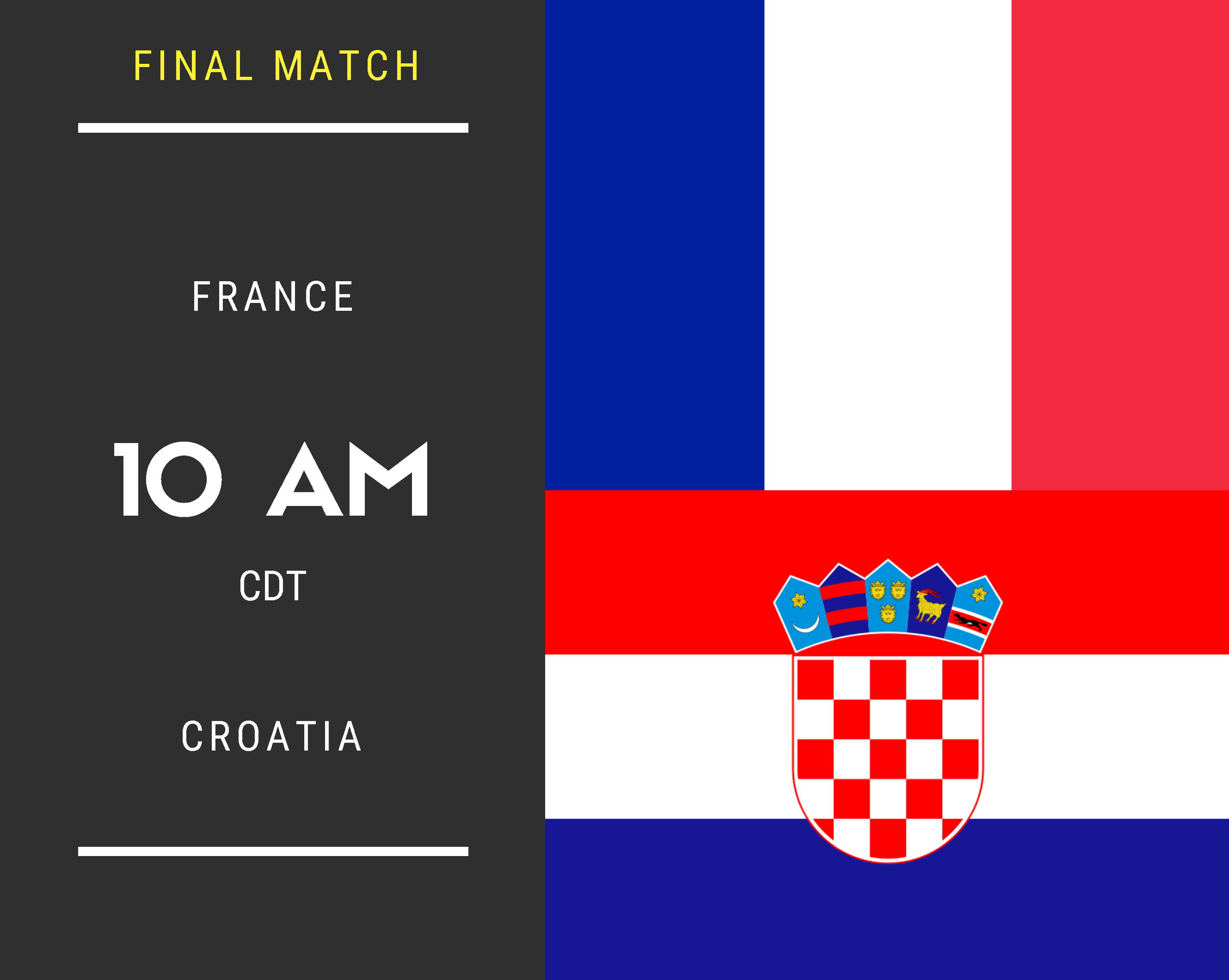 France vs. Croatia (Final Match)