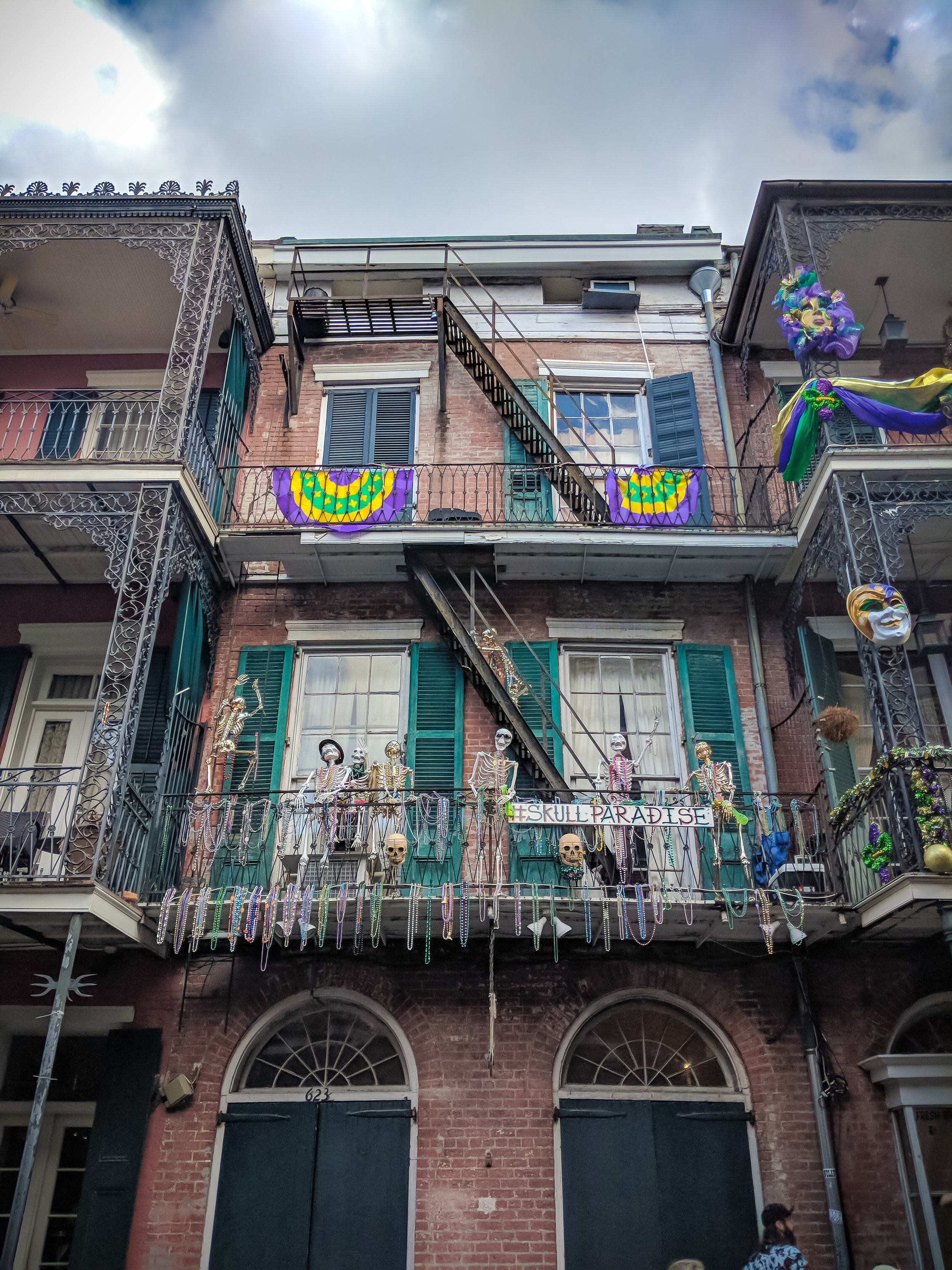Always Halloween in the French Quarter.