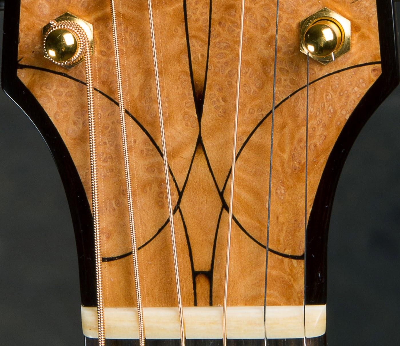 SJ Headstock Detail