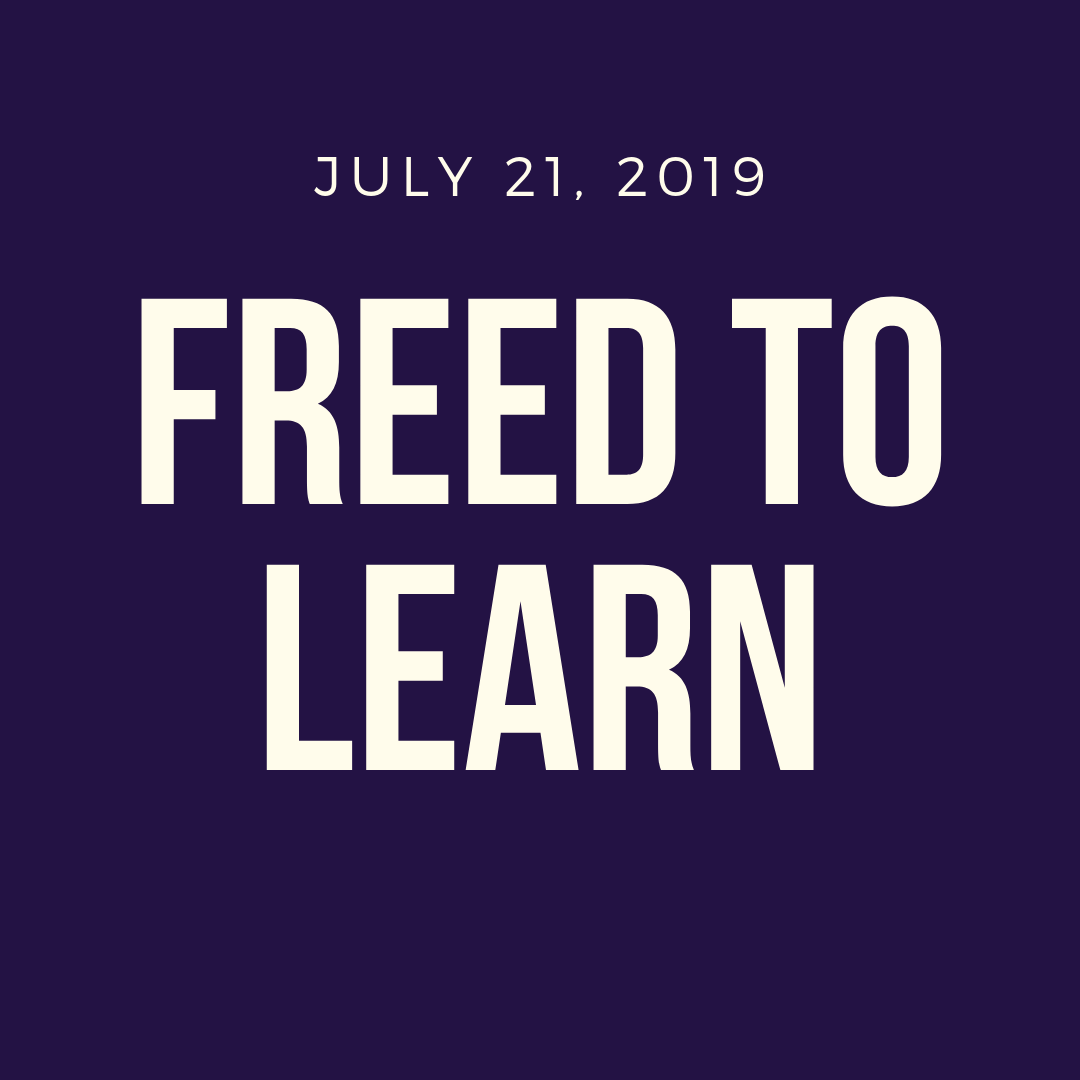 Freed to Learn