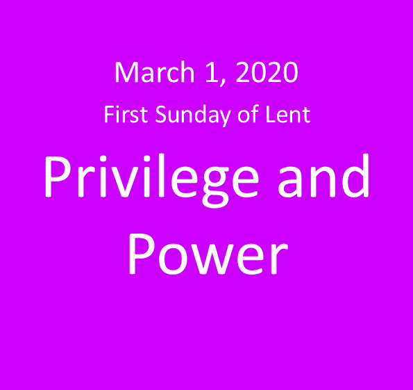 Privilege and Power