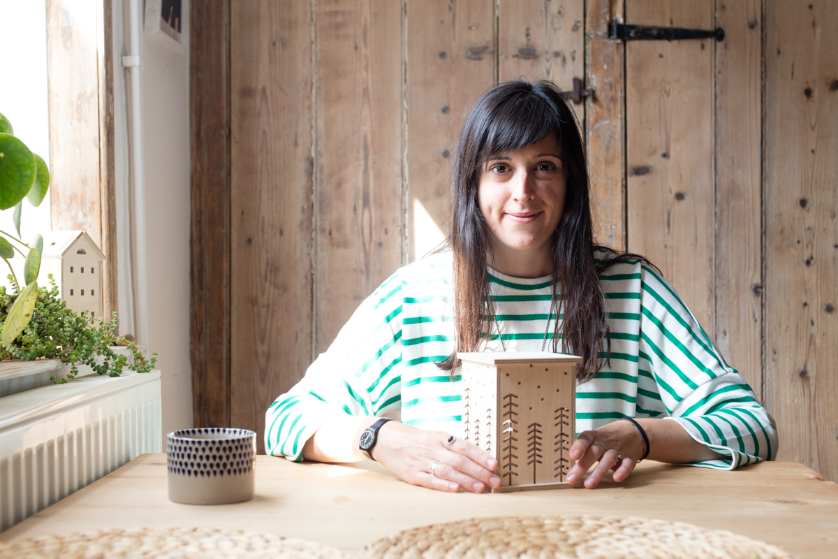 Chloe Harrison is the founder of Bright Corner. Designing and making wooden LED night lights