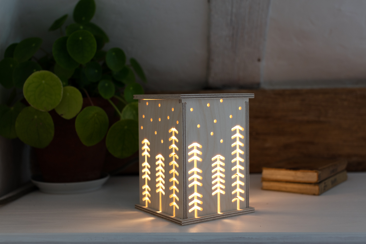 Woodland  LED Light by  Bright Corner