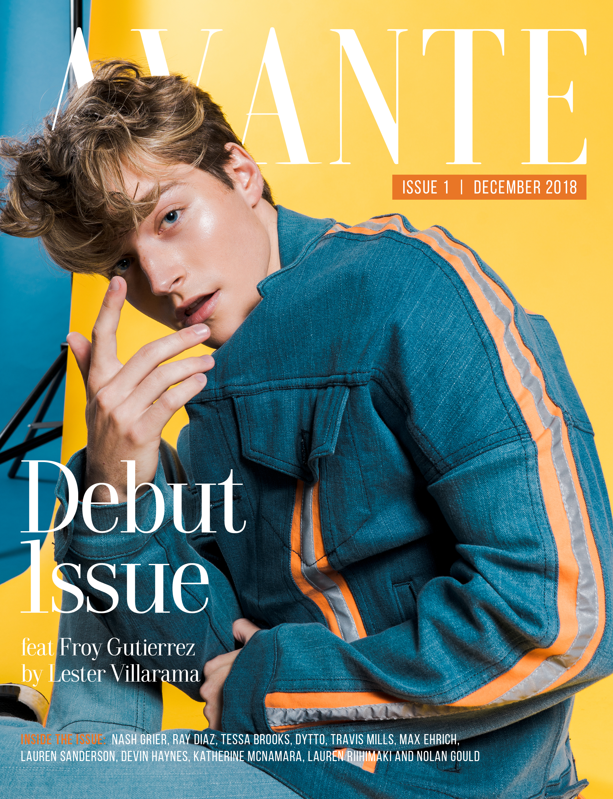 Debut Issue: Froy Gutierrez Cover