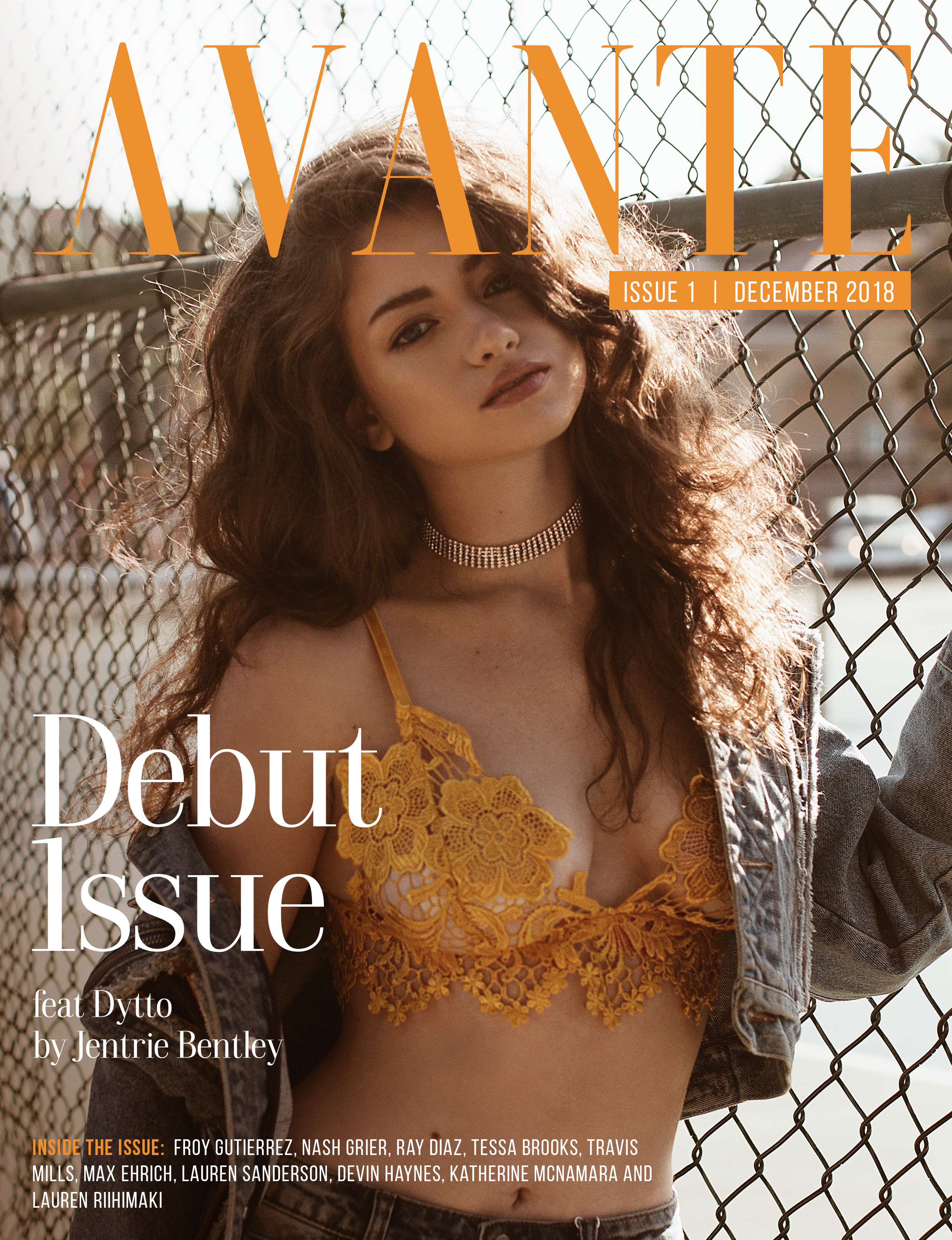 Debut Issue: Dytto Cover