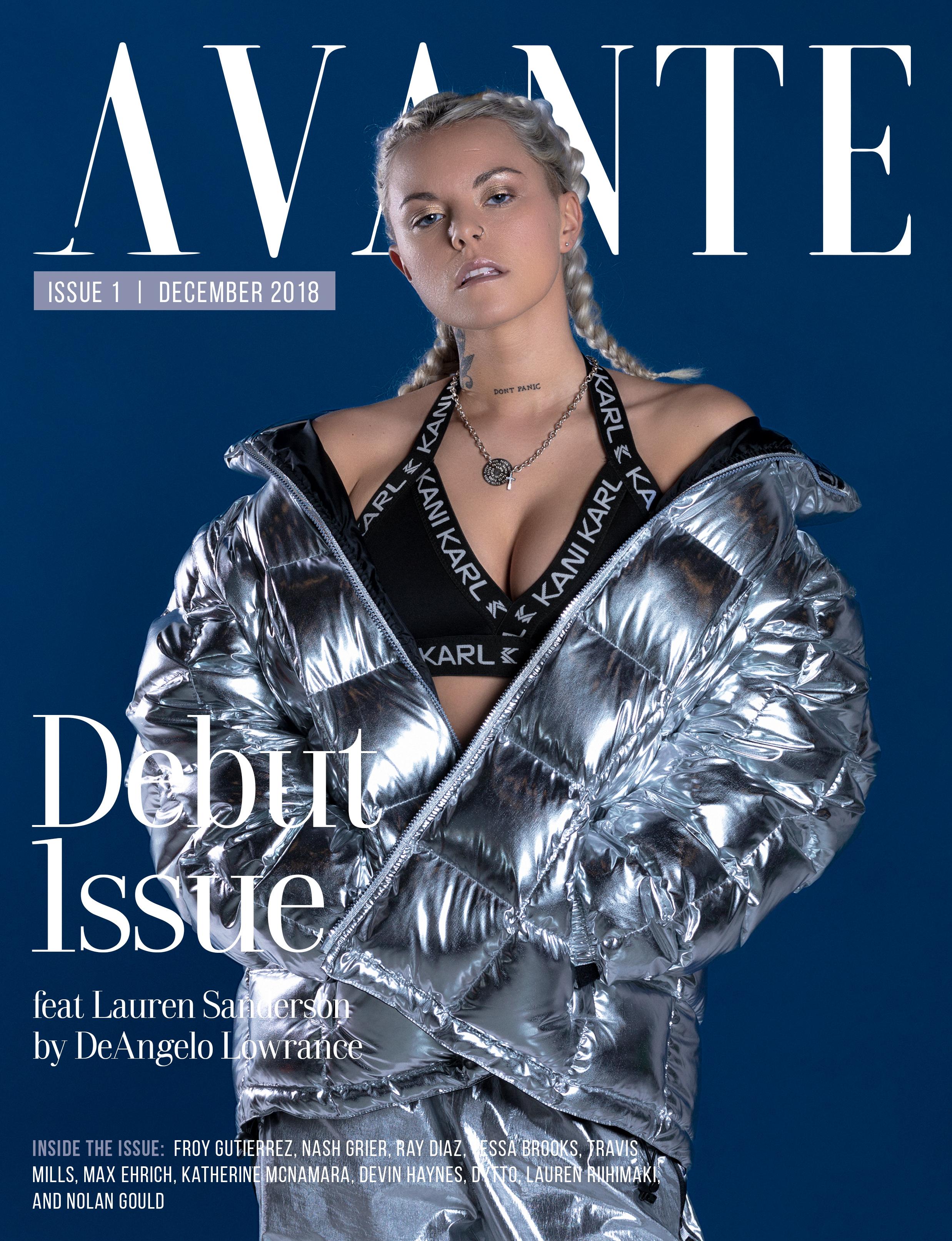 Debut Issue: Lauren Sanderson Cover