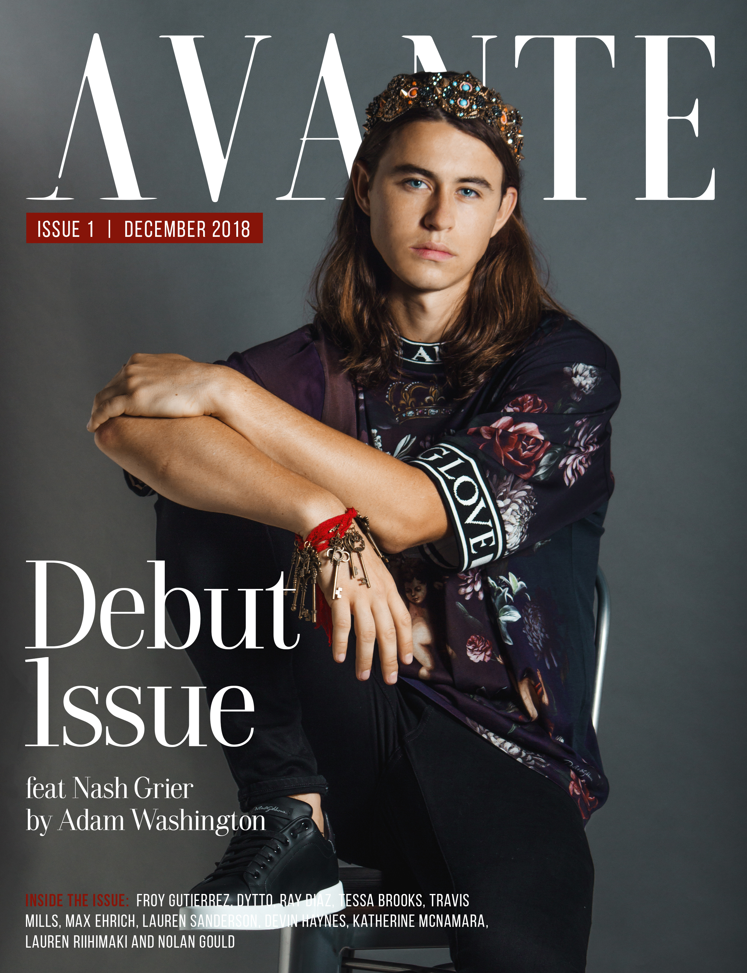 Debut Issue: Nash Grier Cover