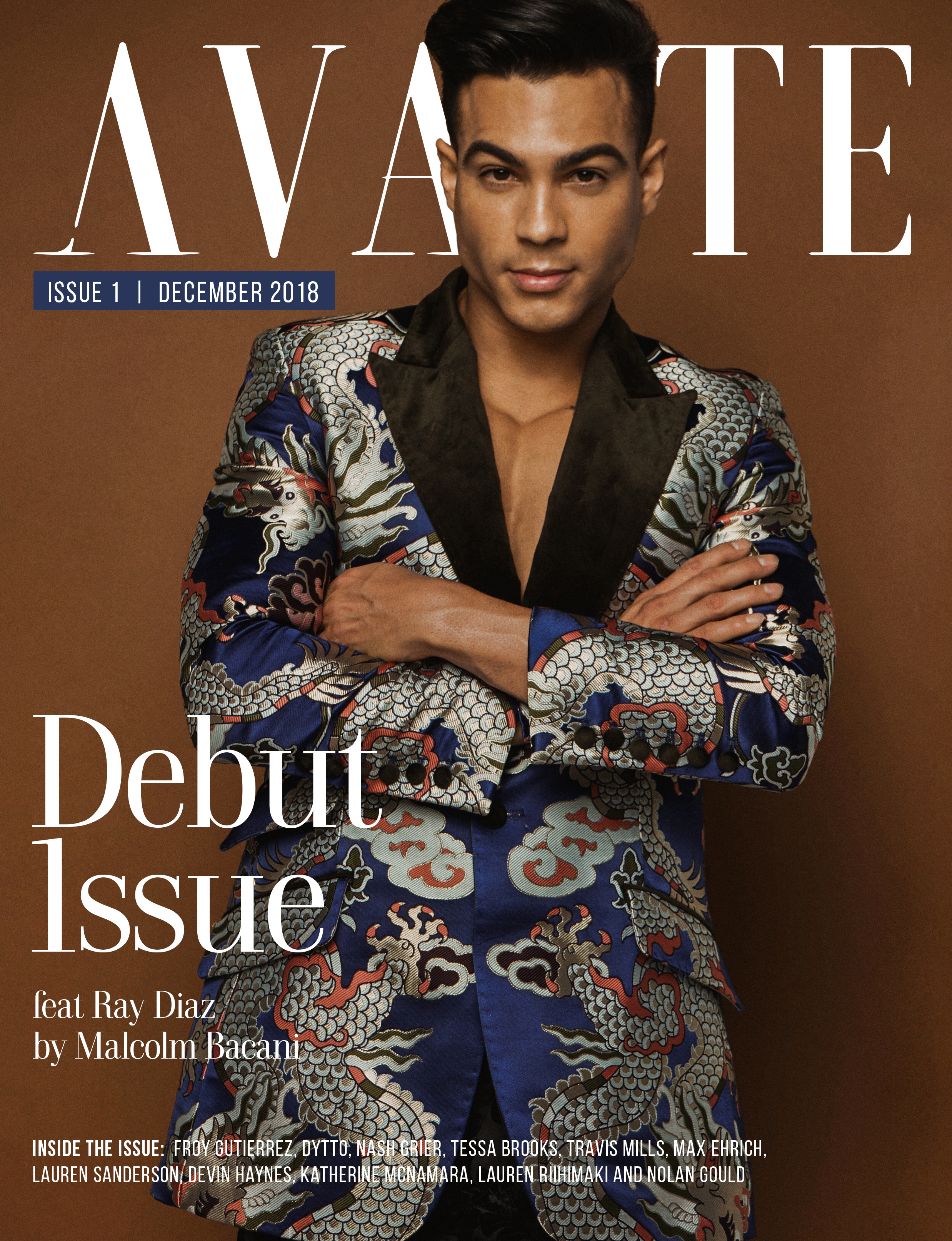 Debut Issue: Ray Diaz Cover