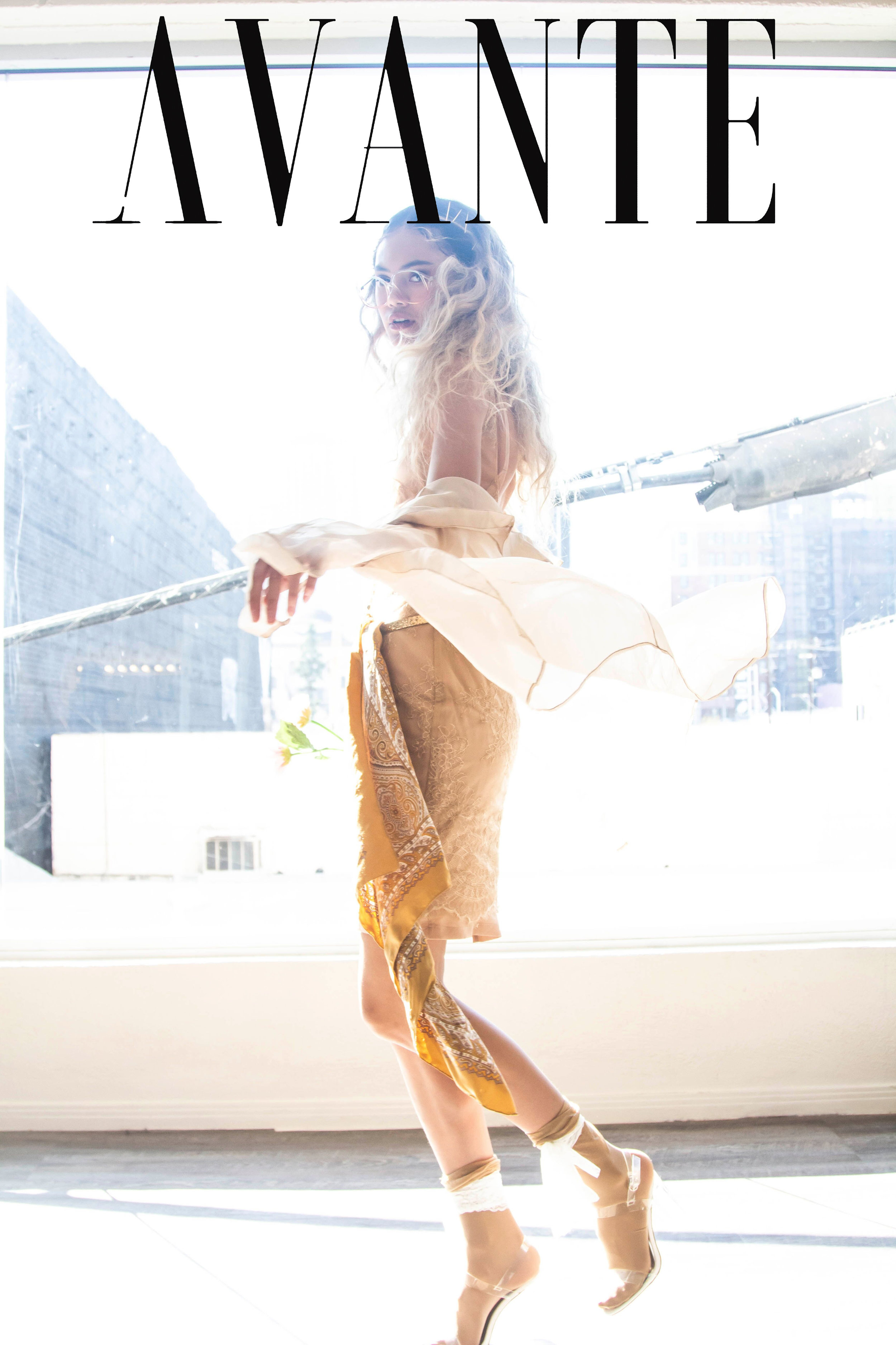 Dress: Rouba.G Blouse: MISHI New York Accessories: The Style Barre Eyewear: Quirk