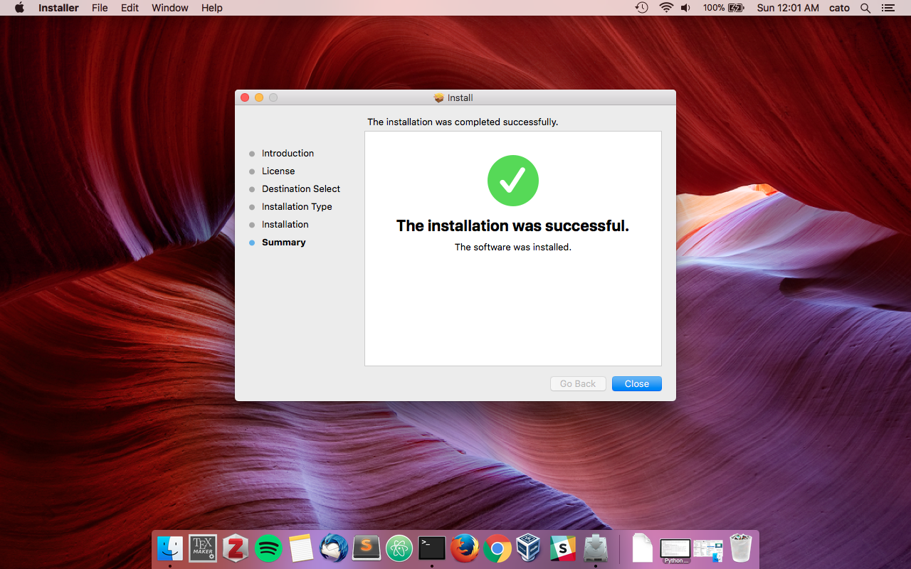 8. Finish - After the install is complete. Try clicking on a PDF. It should open up inside of the secure environment. You can also open Solitare in the Applications menu, and open up a safe browser inside of the VM.
