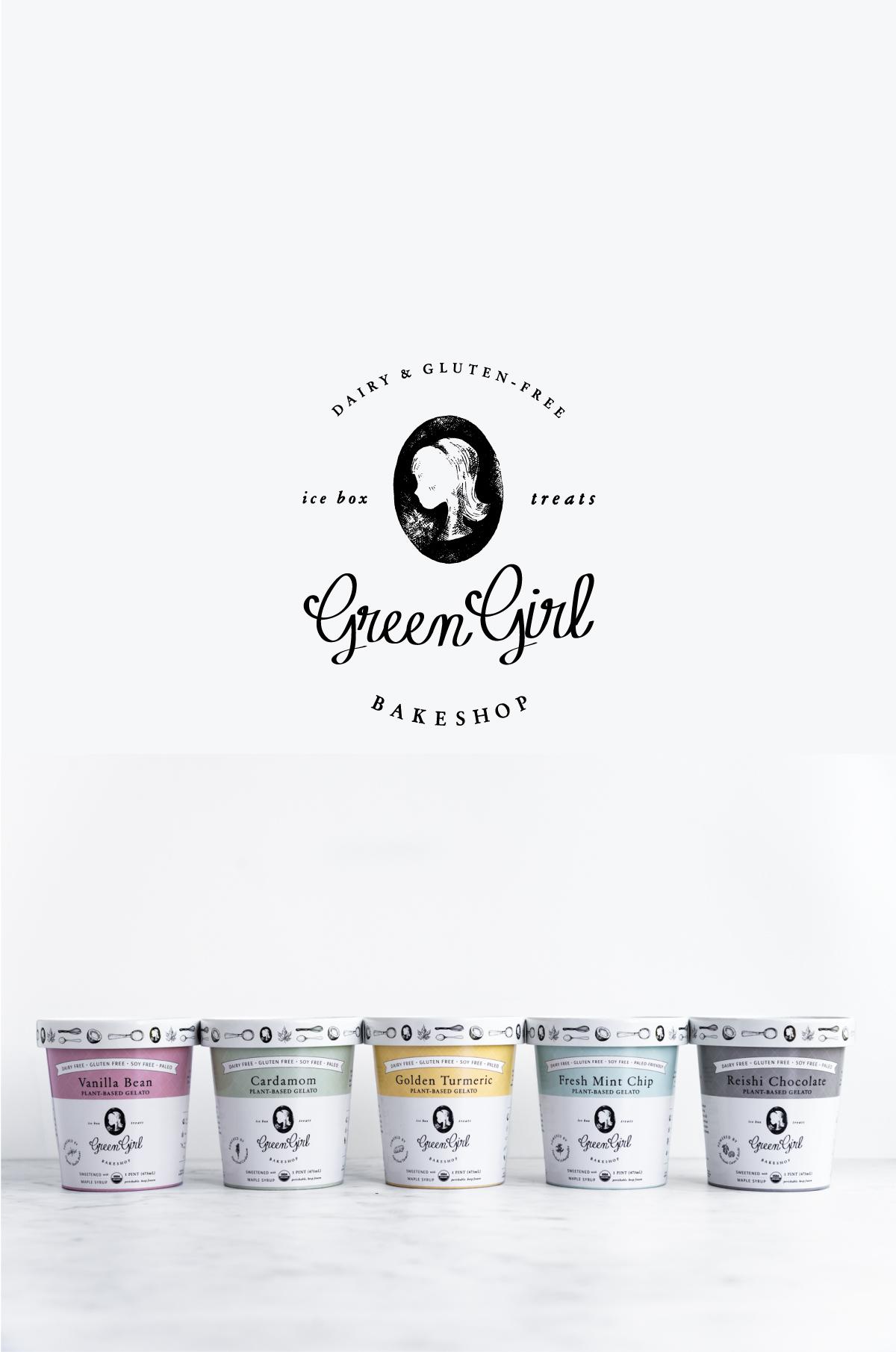 Green Girl Bakeshop •  packaging & web design