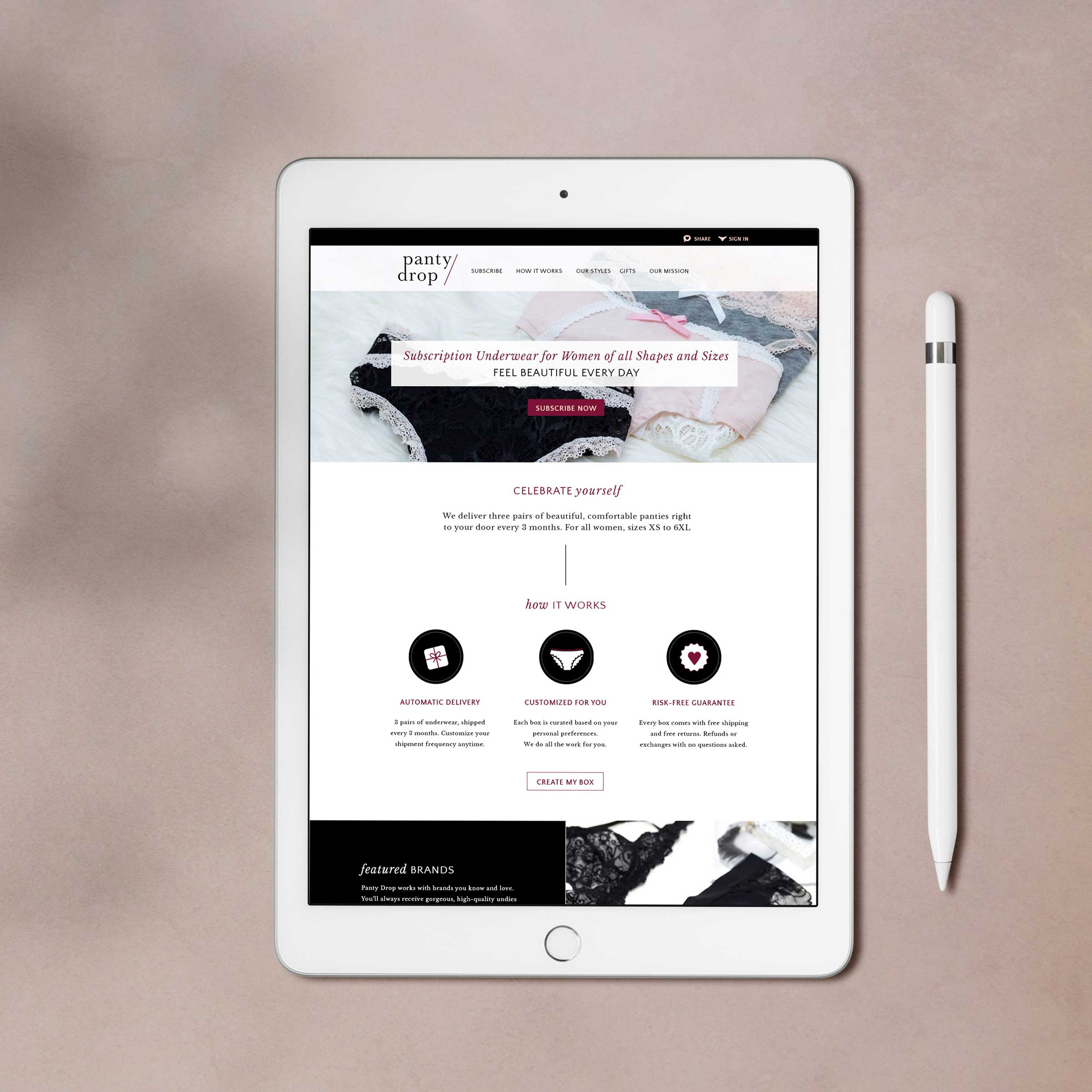 Pantry Drop •  brand & ecommerce web design