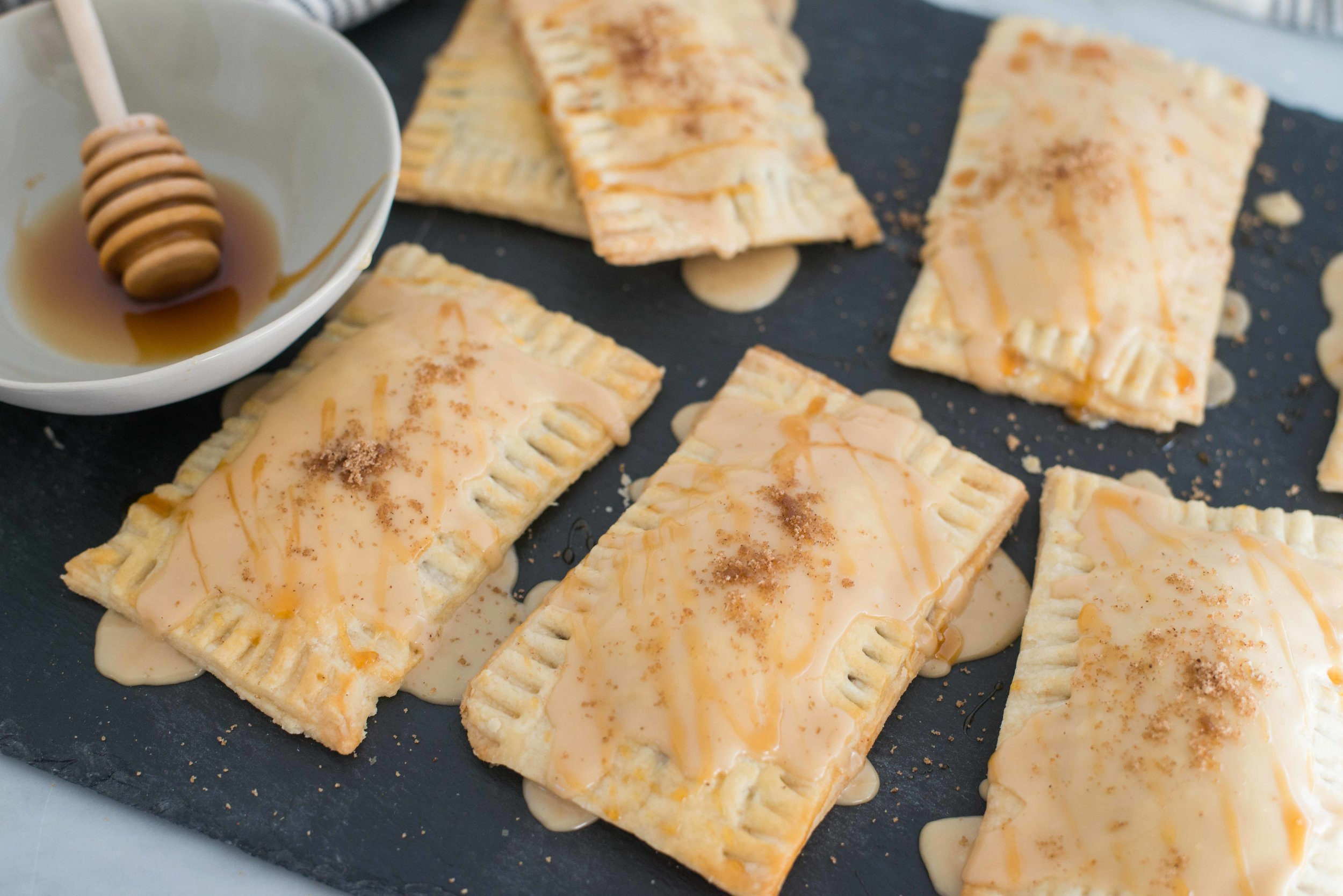 Mixed And Measured | Vegetarian Food Blog by Riley Yahr | Chai Spiced Pop Tarts with Black Tea Icing
