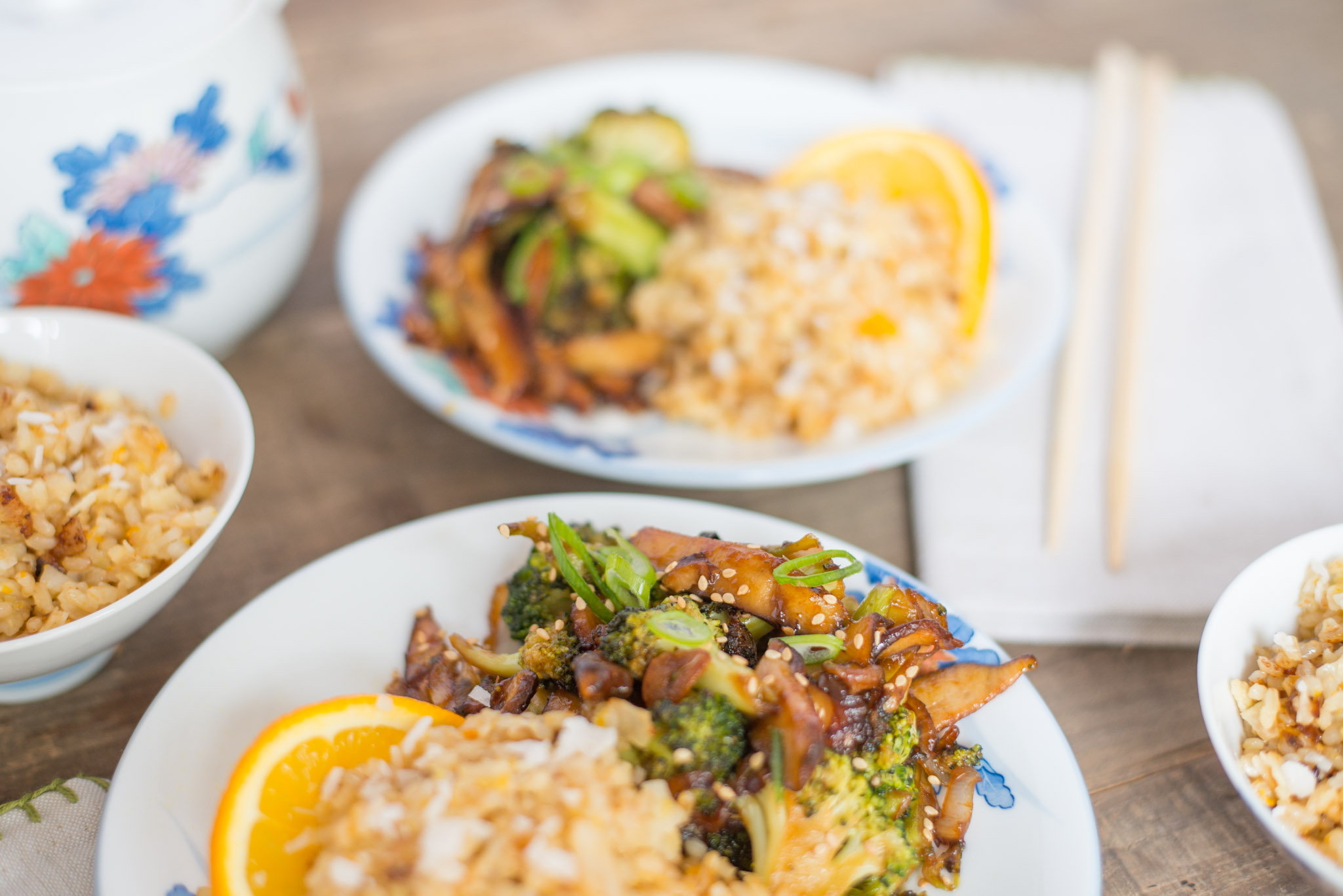 Mixed & Measured | Broccoli & Shiitake Mushrooms with Coconut Rice