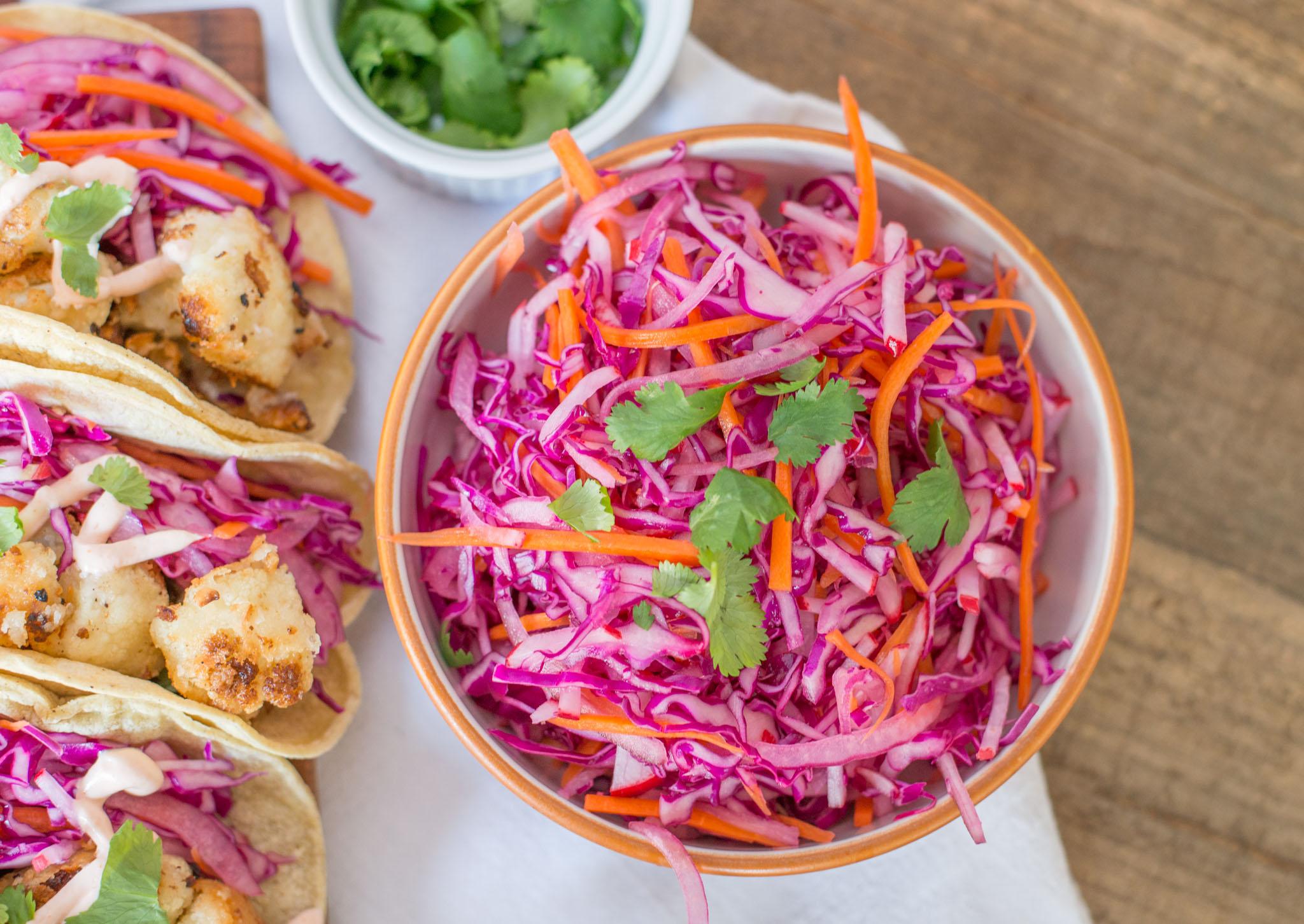 Mixed & Measured | Coconut Cauliflower Tacos