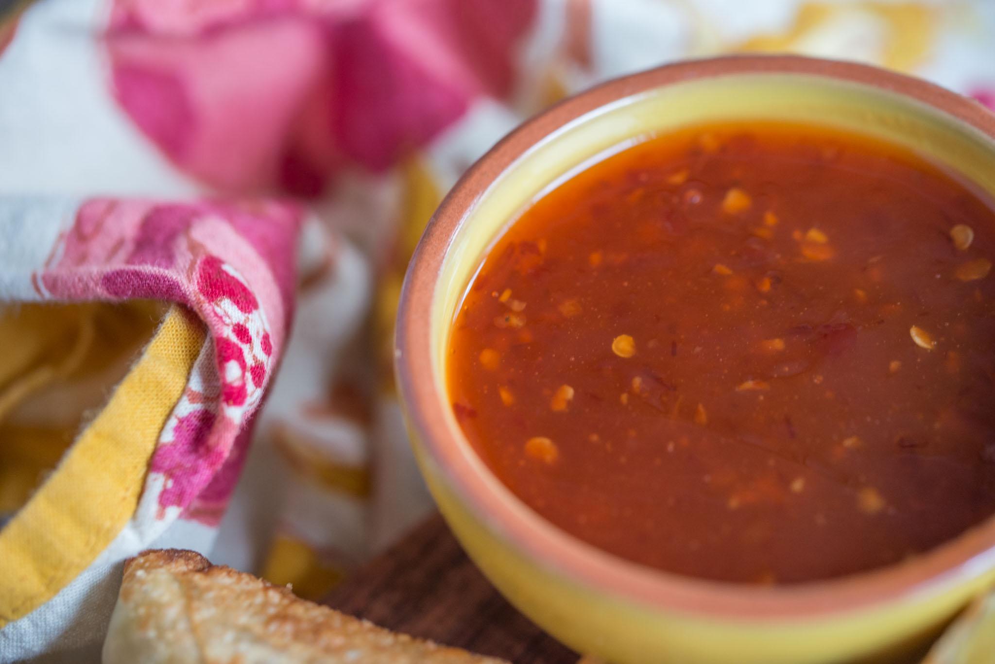 Mixed & Measured | Spiced Potato Pea Egg Roll