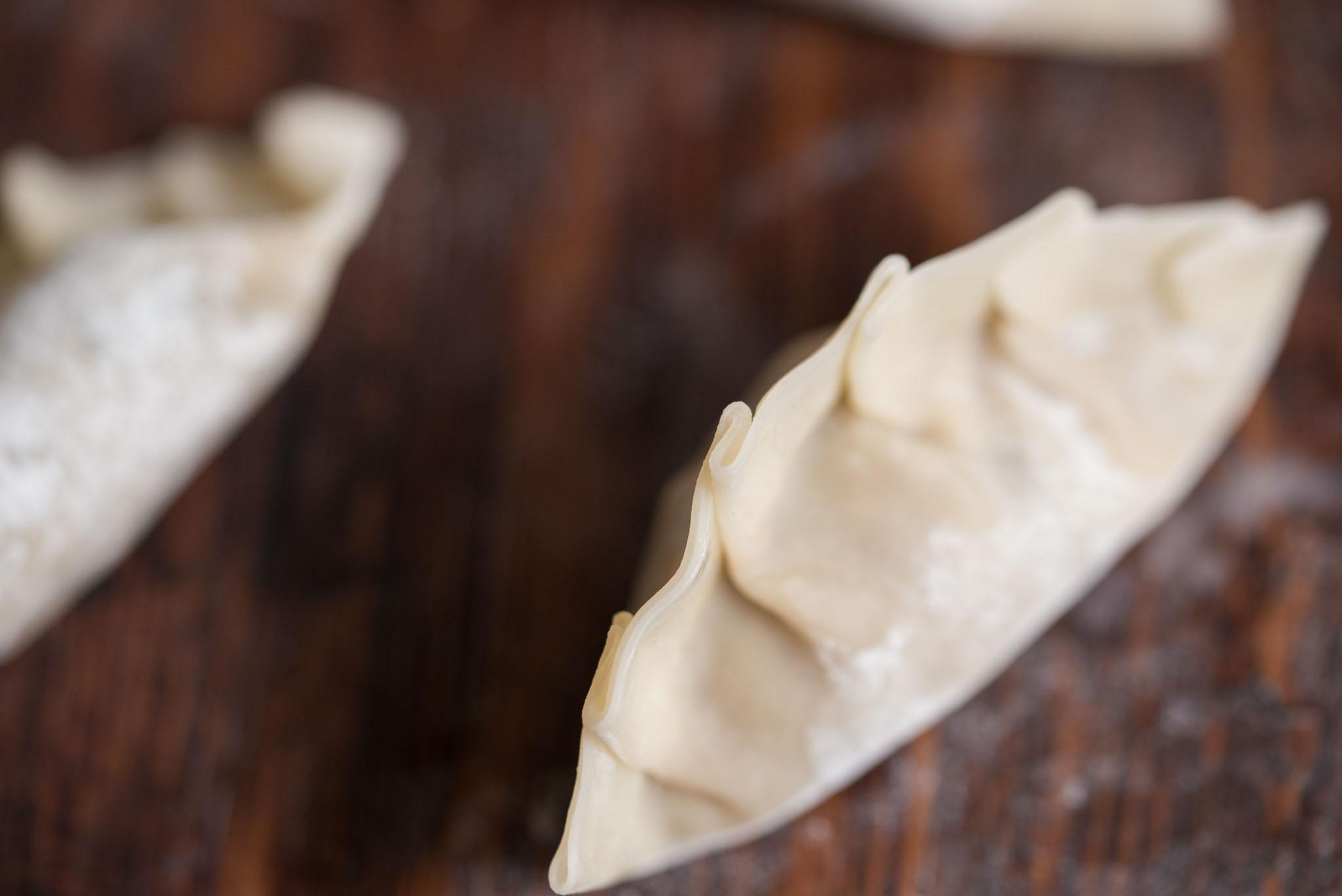 Mixed & Measured | Sweet Potato Shiitake Potstickers