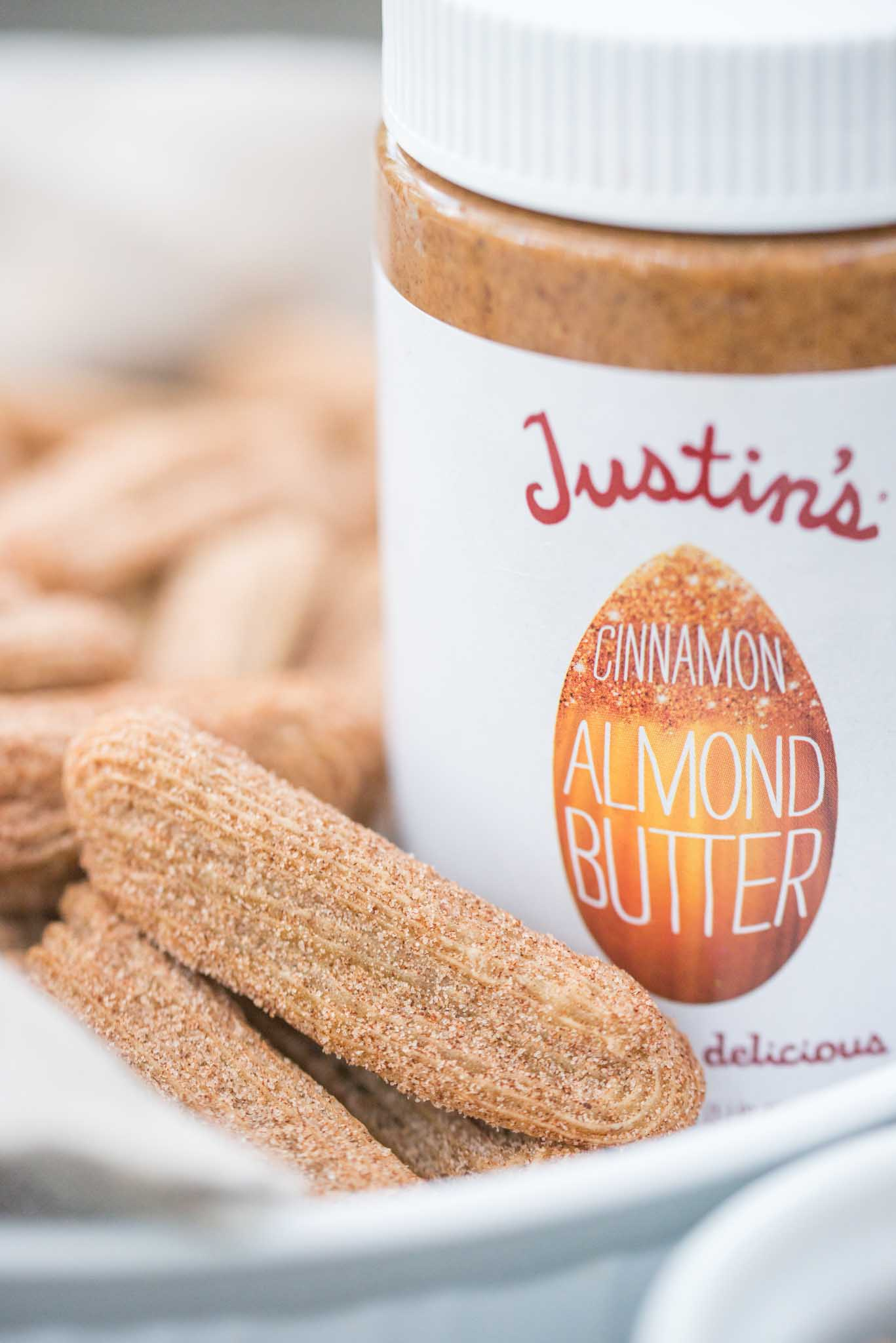 Mixed & Measured | Cinnamon Almond Butter Churros