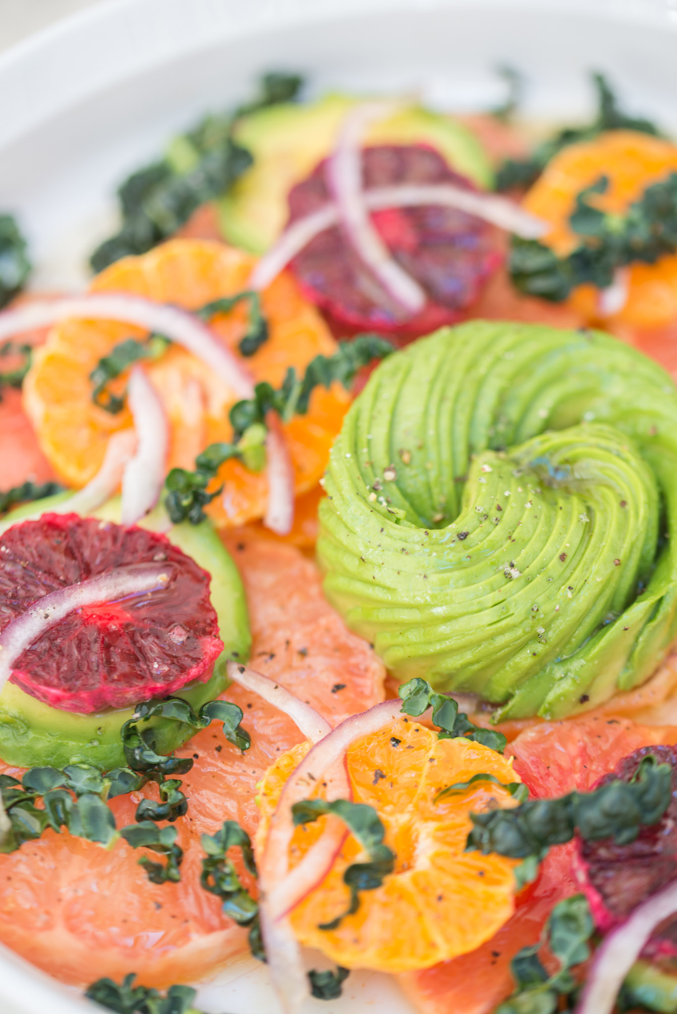Mixed & Measured | Citrus Avocado Salad