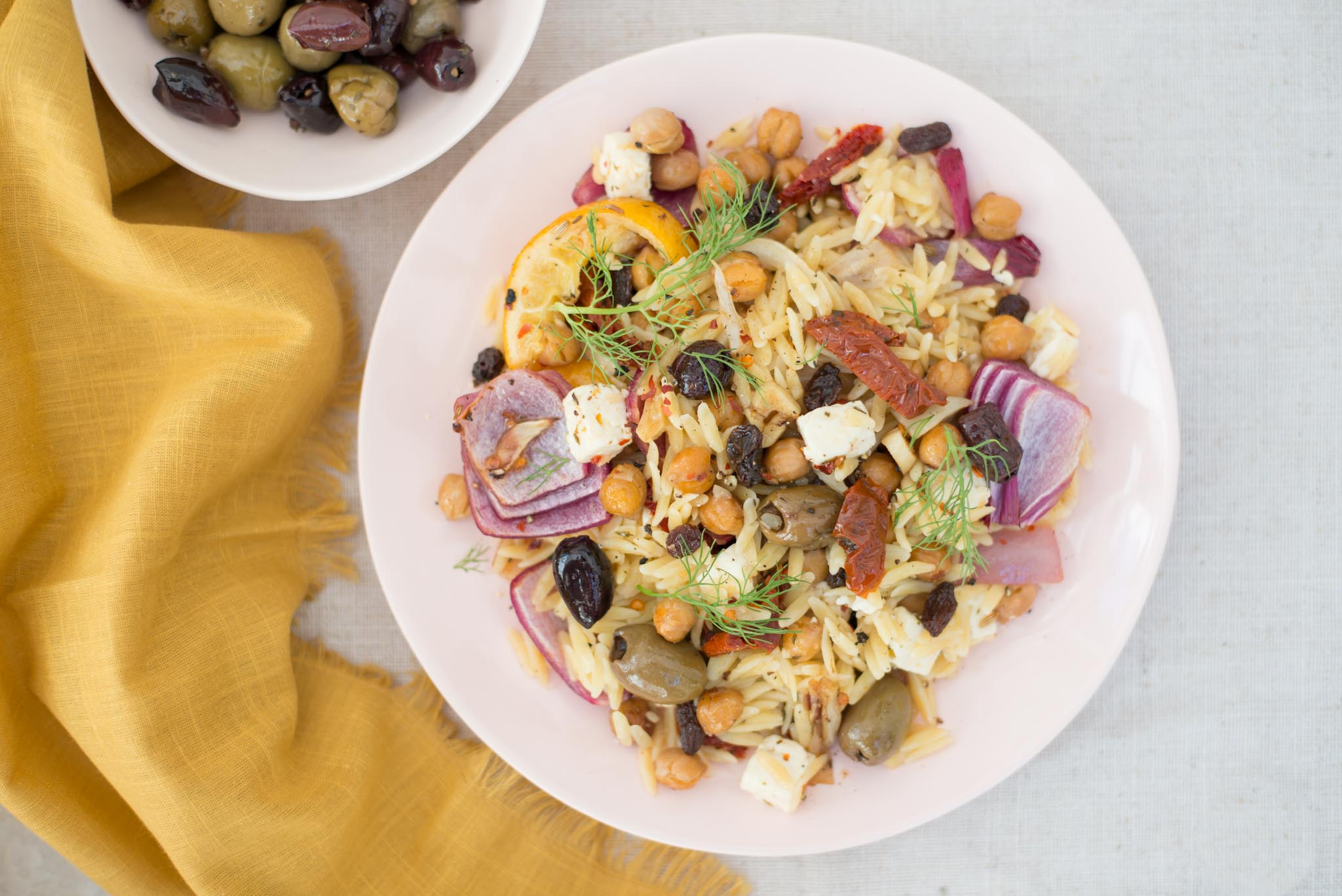 Mixed & Measured | Mediterranean Orzo Salad