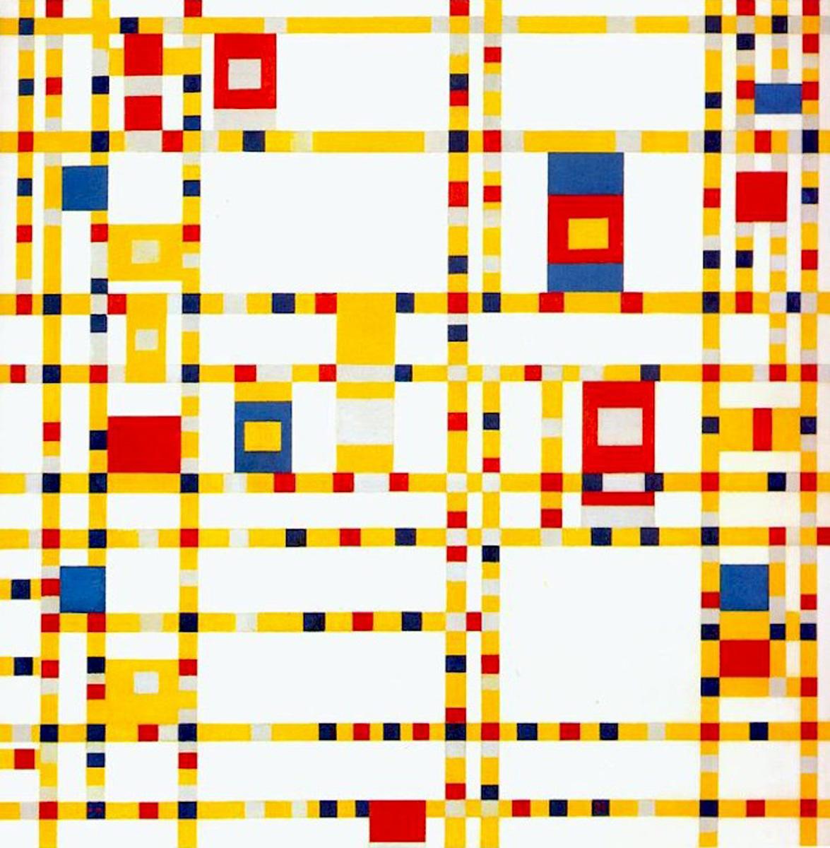 Piet Mondrian, Broadway Boogie-Woogie, 1943