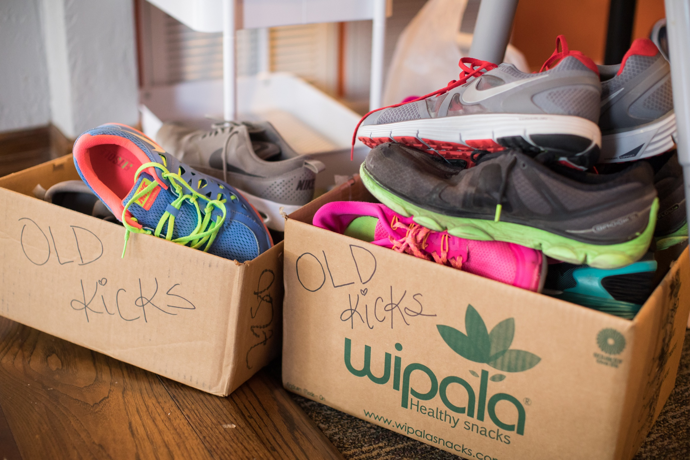 We donated 17 pairs of shoes, y'all!!!! Thank you! <3