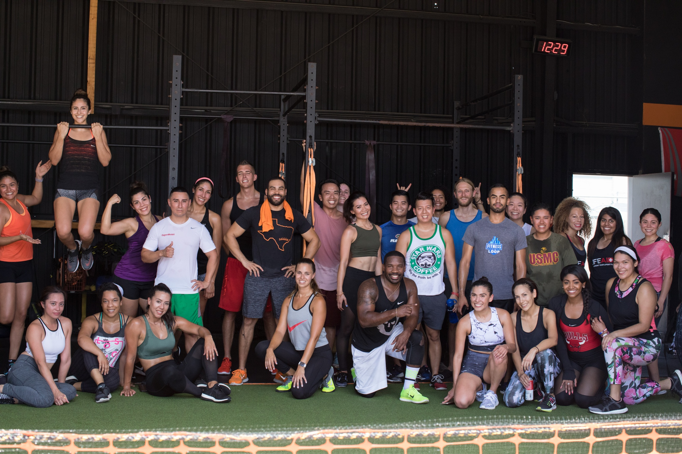 Y'all are awesome! Thank you for giving your shoes to those who need them! <3 Y'all killed the workout!