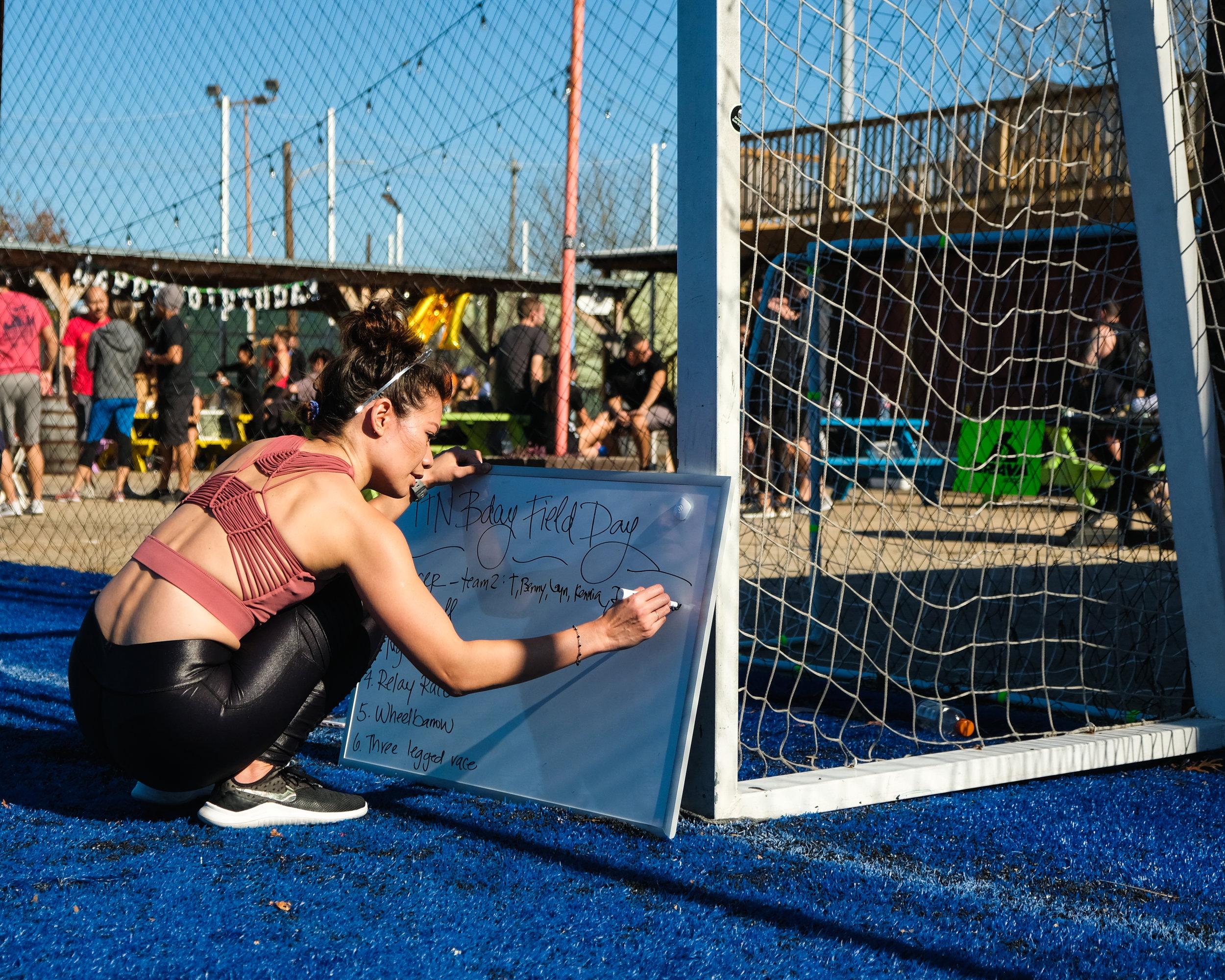 TTN Bday Field Day Games: Soccer, Tug of War, Relay Race, Wheelbarrow, and Three Legged Race