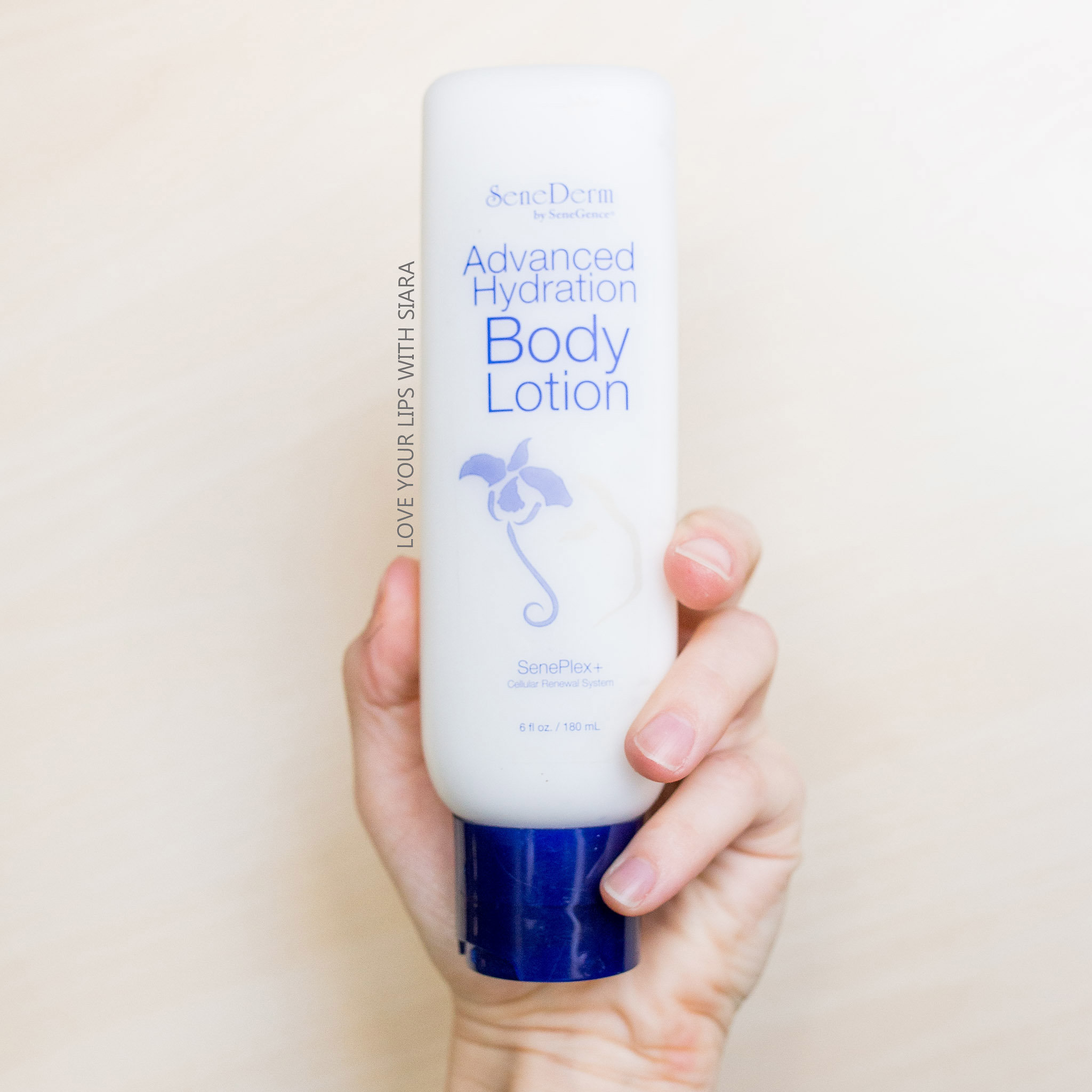 Advanced hydration body lotion - with SenePlex+