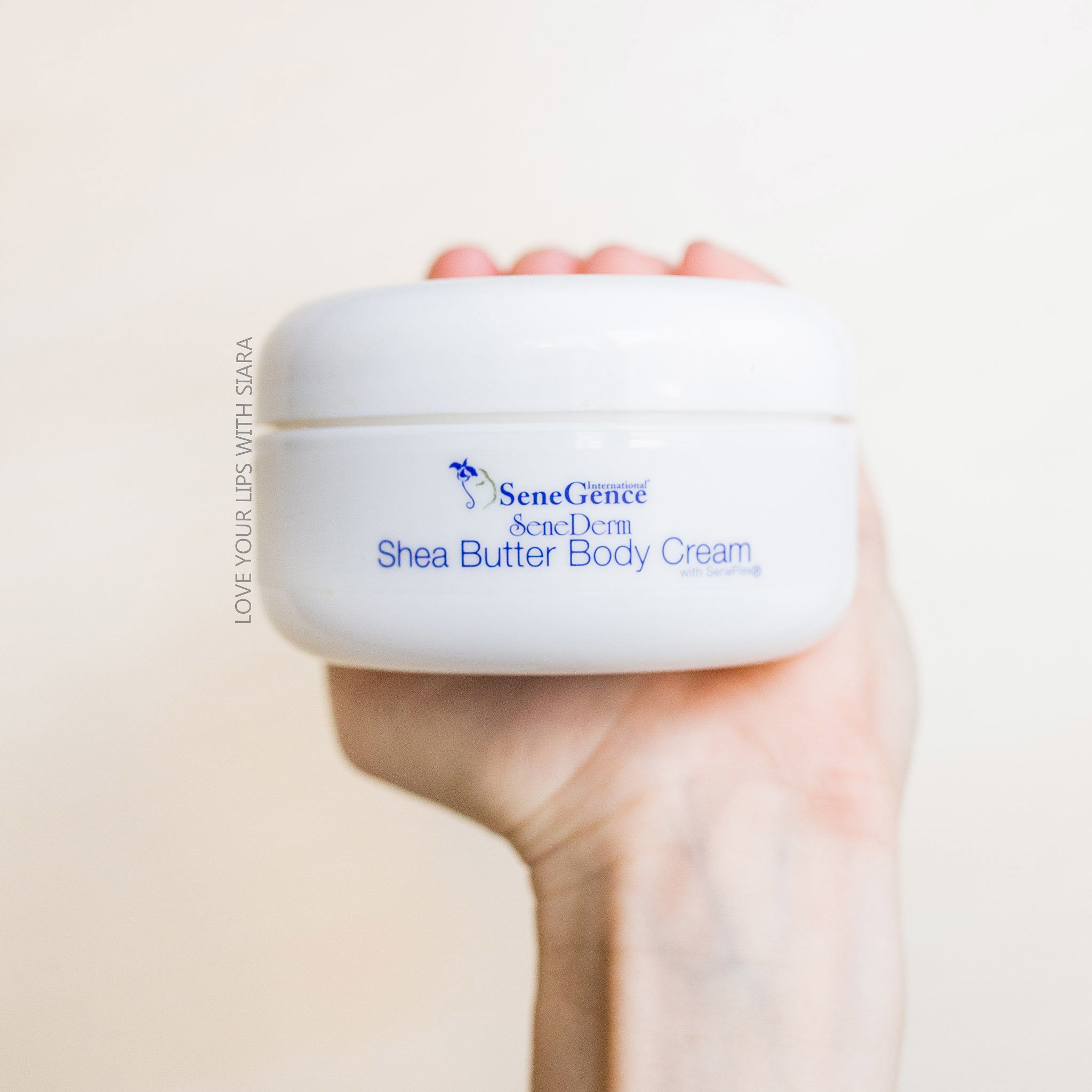 Shea butter body cream - with SenePlex