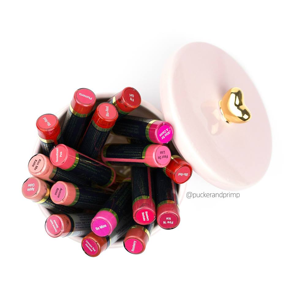 $75 PACKAGE (RETAIL VALUE $98) INCLUDES 2 LIPSENSE LIP COLORS, GLOSSY GLOSS, REMOVER, SANMPLES AND PAIR OF EARRINGS -