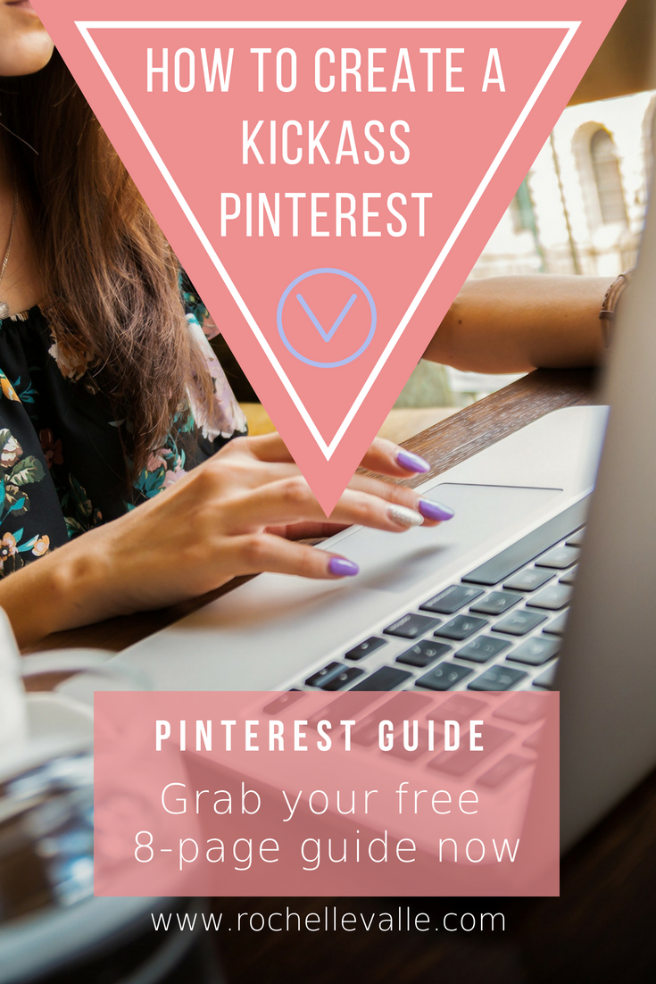Find Your Dream Client on Pinterest - Get the FREE Guide - Click Below