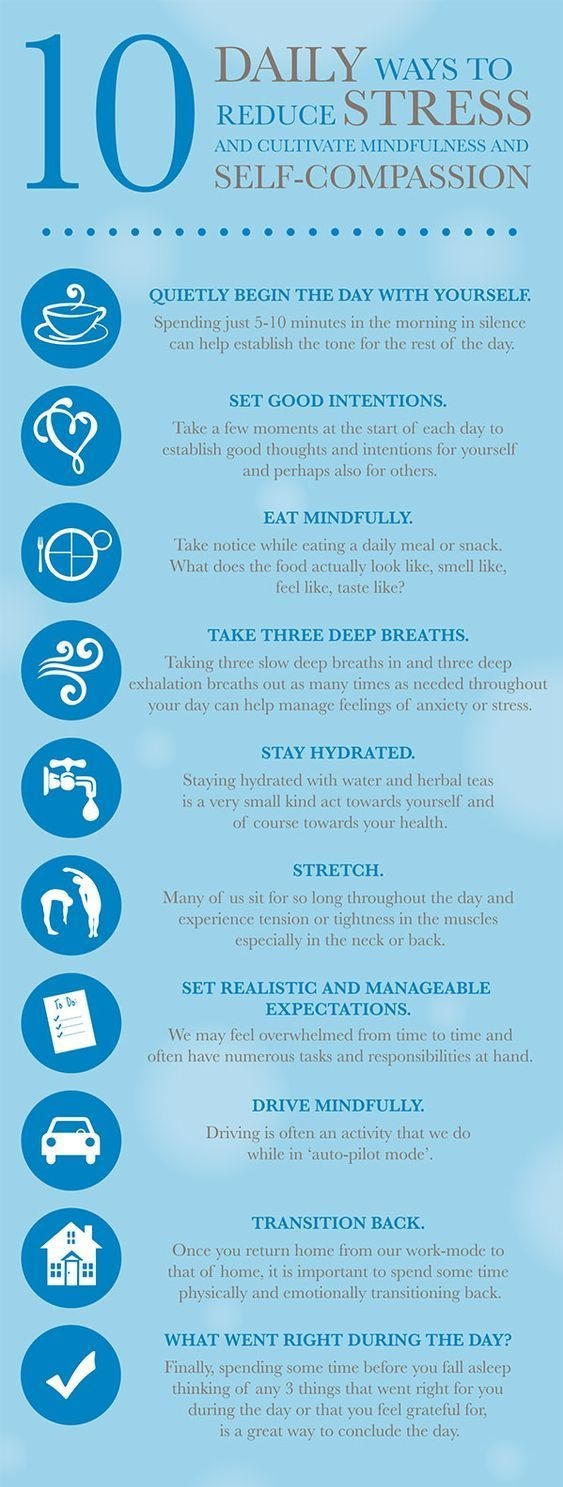 10 Daily Ways to Reduce Stress and Cultivate Mindfulness