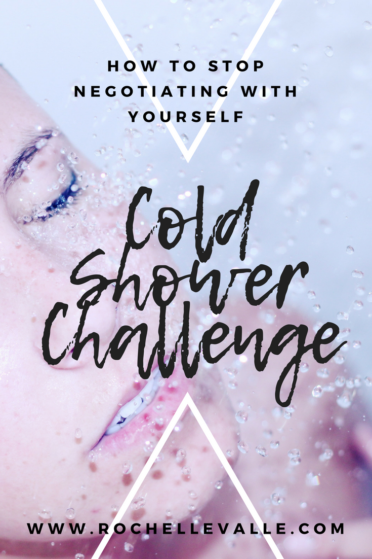 Stop Negotiating With Your Mind - Try the Cold Shower Challenge