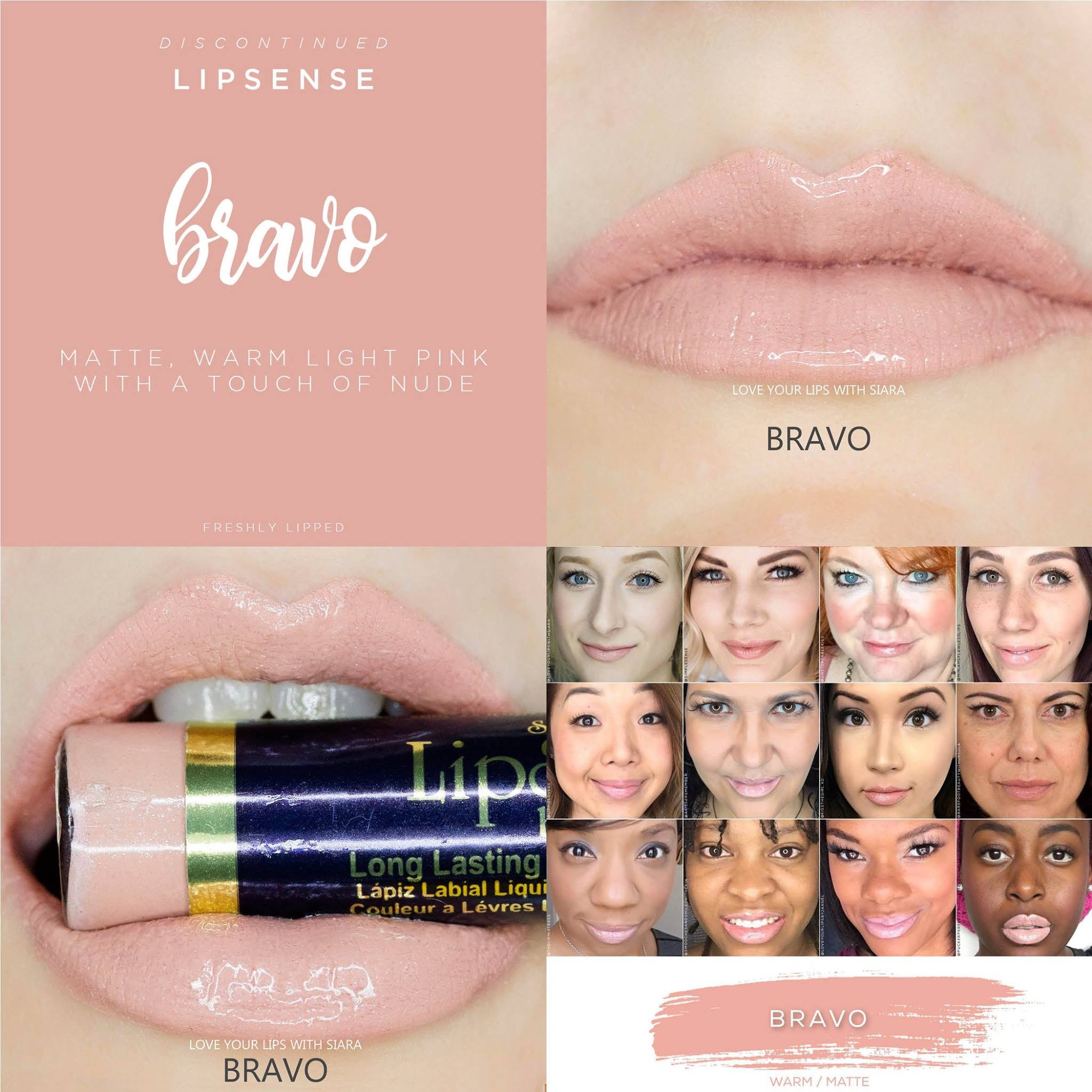 Bravo LipSense Collage