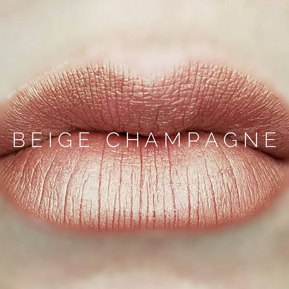 Beige Champagne LipSense Matte Gloss